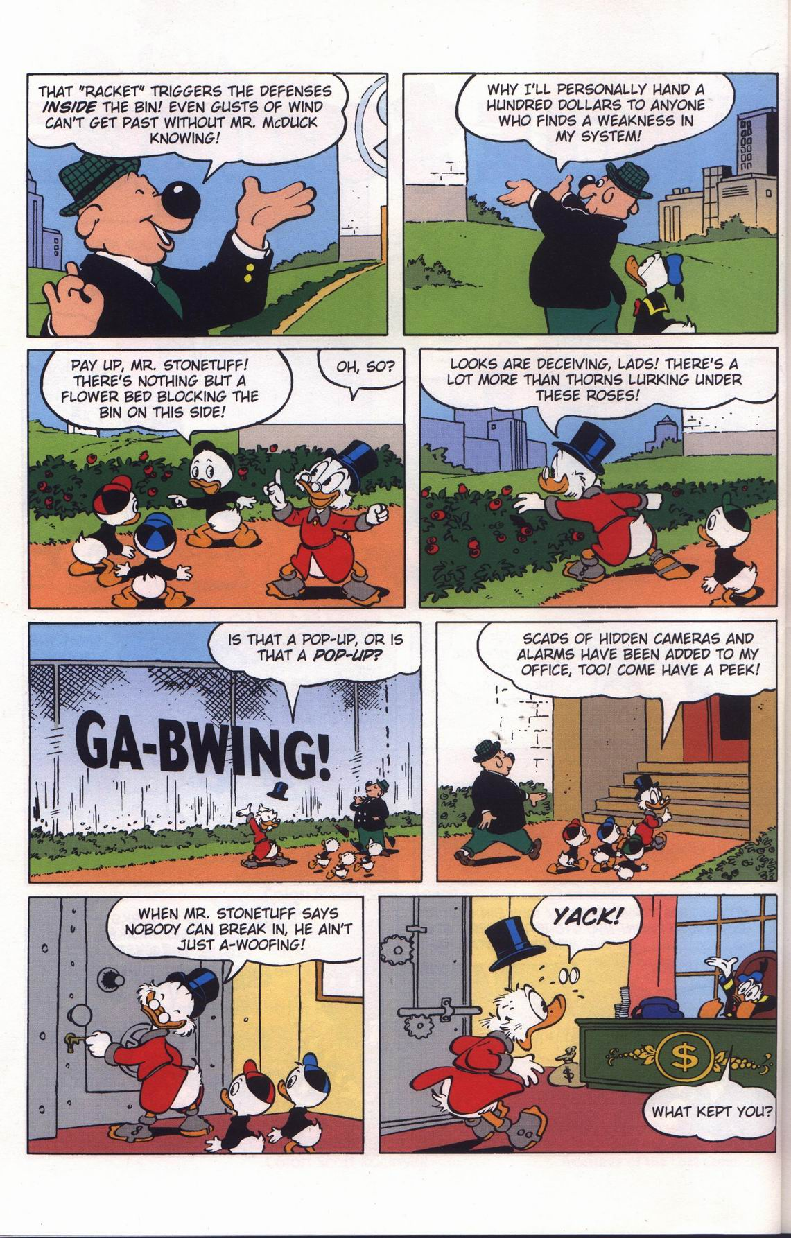Read online Uncle Scrooge (1953) comic -  Issue #313 - 6