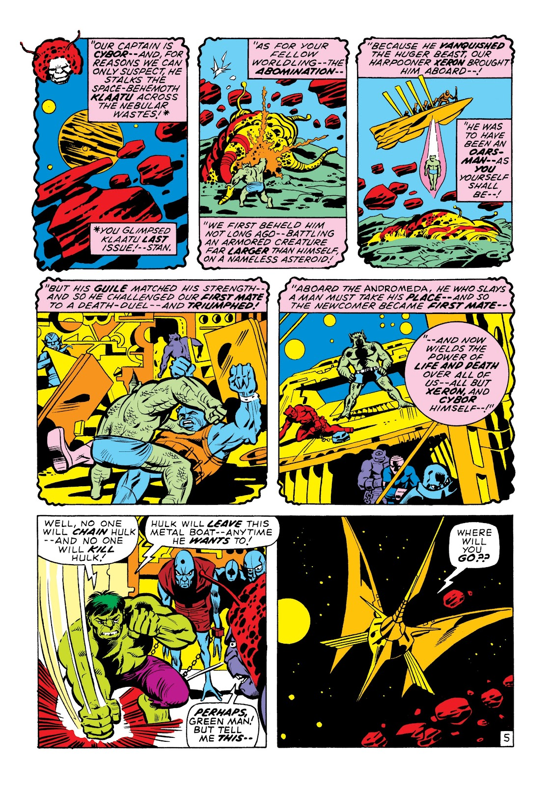 Read online Marvel Masterworks: The Incredible Hulk comic -  Issue # TPB 7 (Part 1) - 52