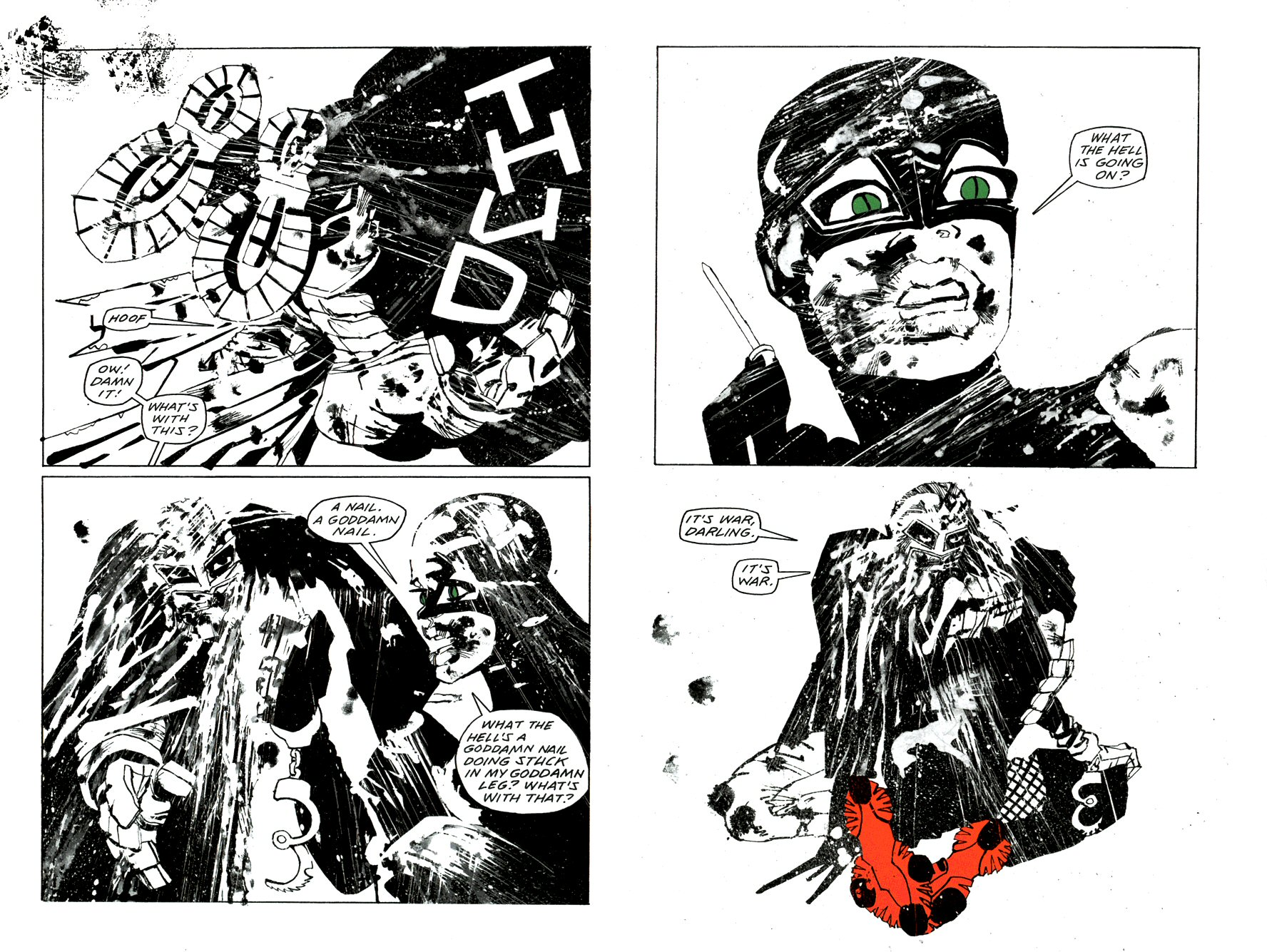 Read online Frank Miller's Holy Terror comic -  Issue # TPB - 37