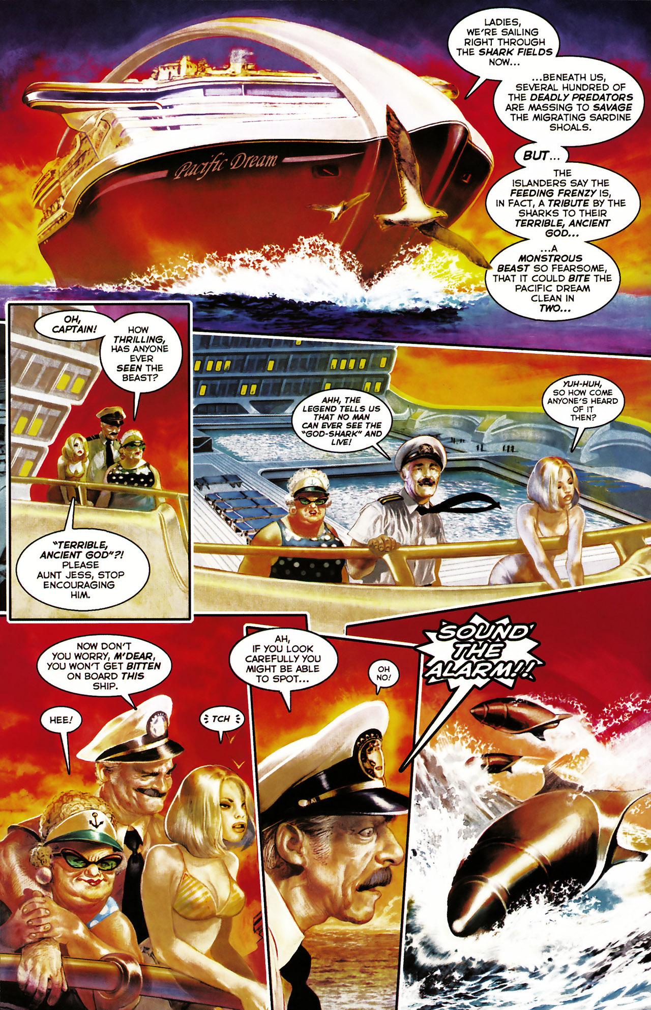 Read online Shark-Man comic -  Issue #1 - 8
