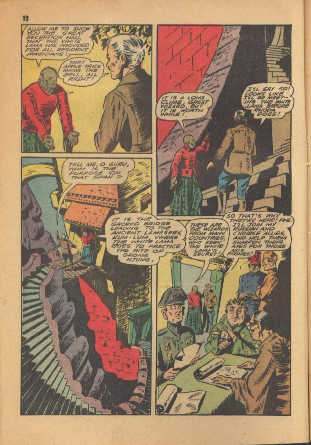 Read online Super-Magician Comics comic -  Issue #13 - 12