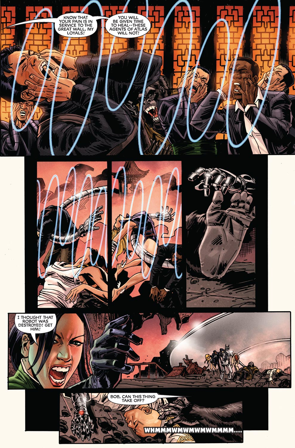 Read online Agents Of Atlas (2009) comic -  Issue #9 - 20
