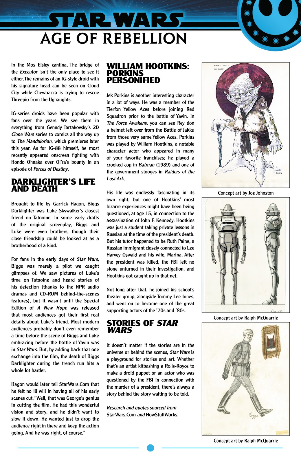 Read online Star Wars: Age of Rebellion Special comic -  Issue # Full - 35