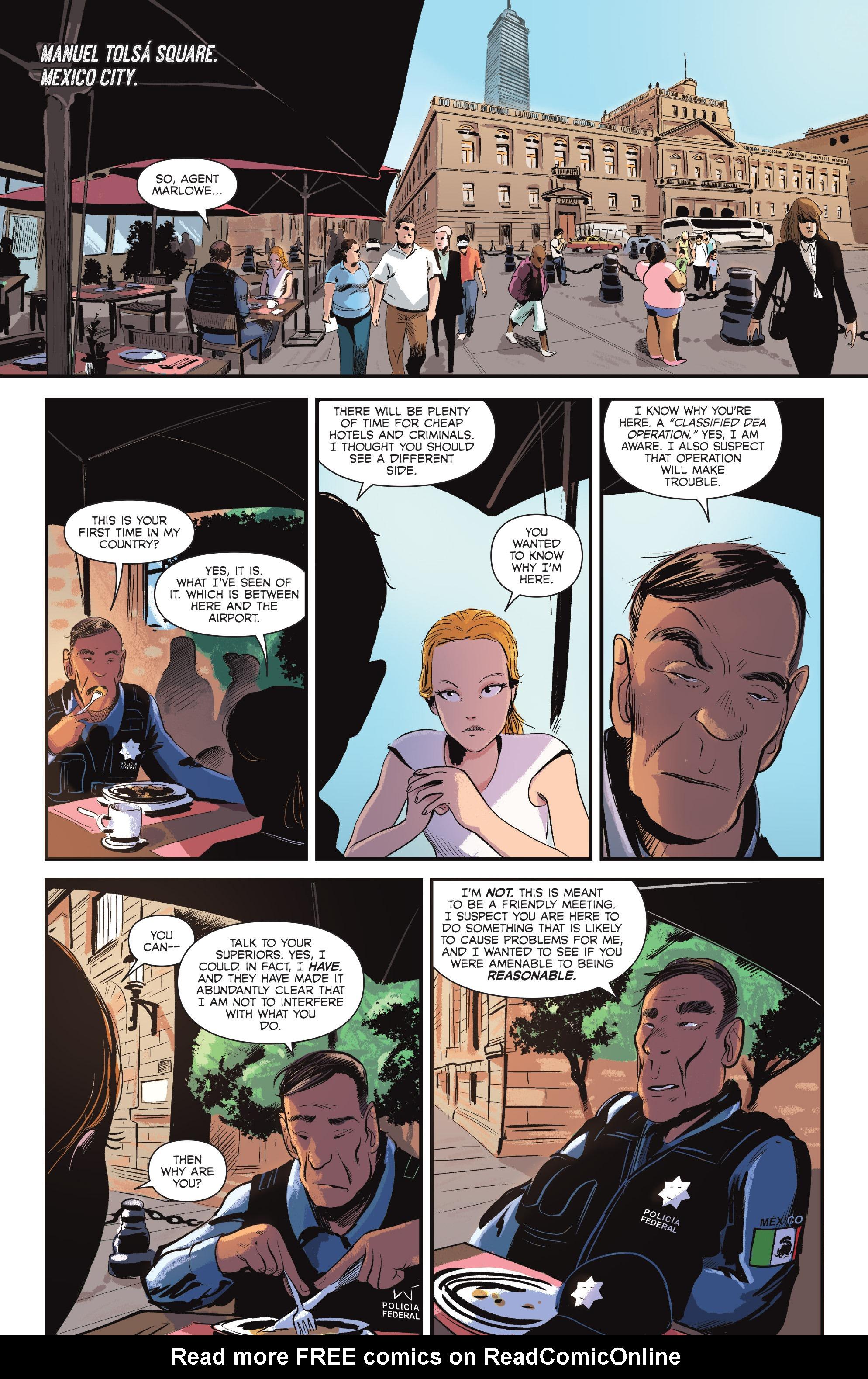 Read online Sombra comic -  Issue #1 - 12