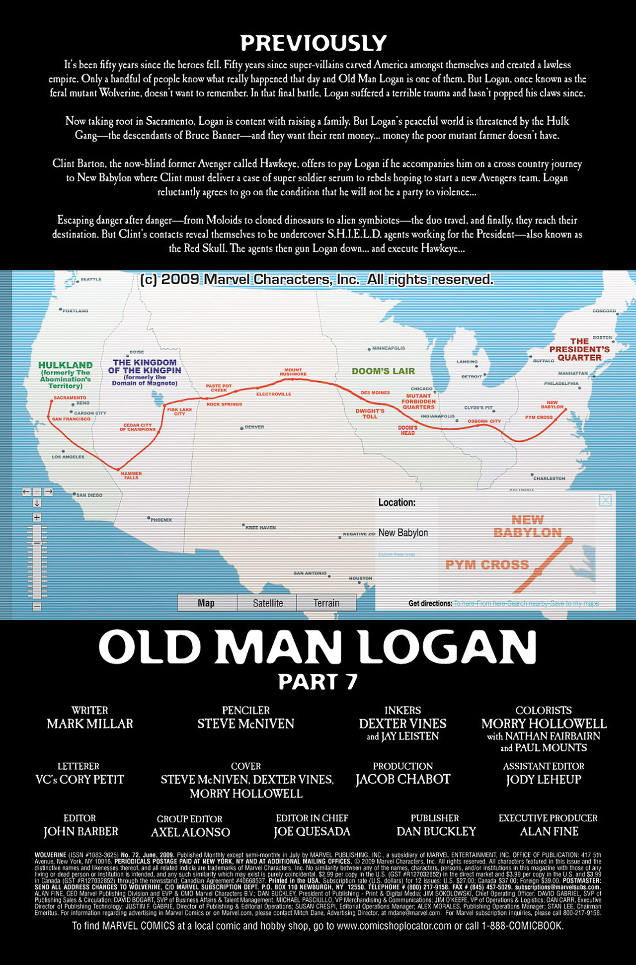 Read online Wolverine: Old Man Logan comic -  Issue # Full - 138