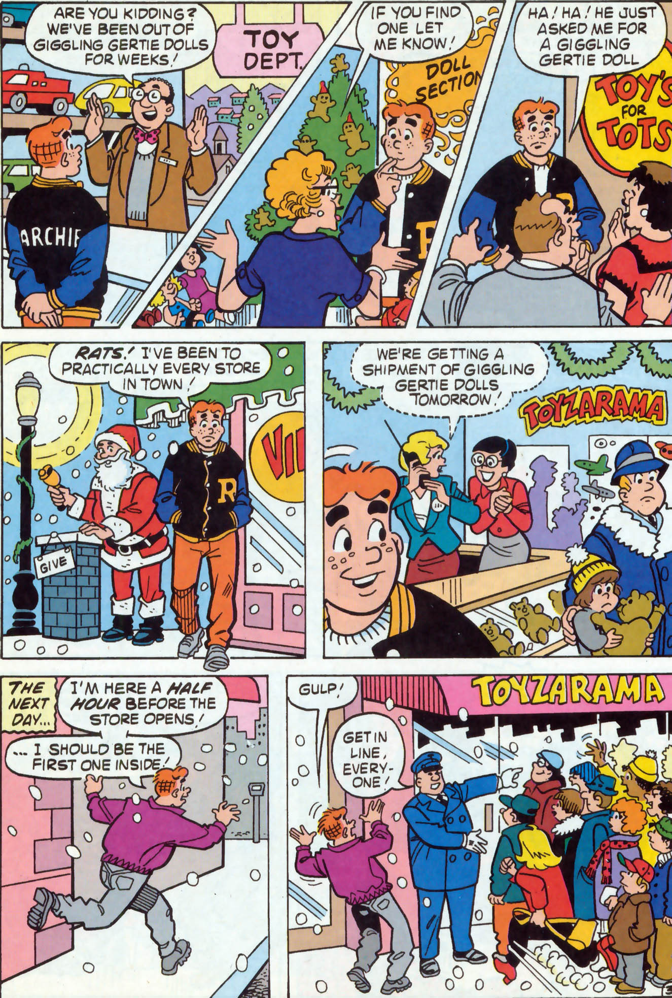 Read online Archie (1960) comic -  Issue #467 - 16