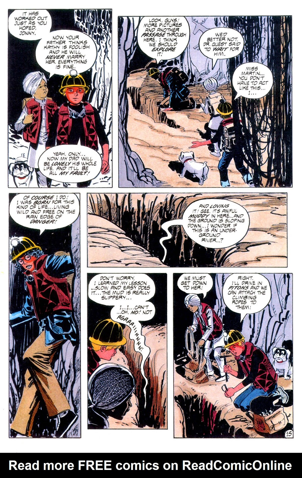 Jonny Quest (1986) issue 12 - Page 18
