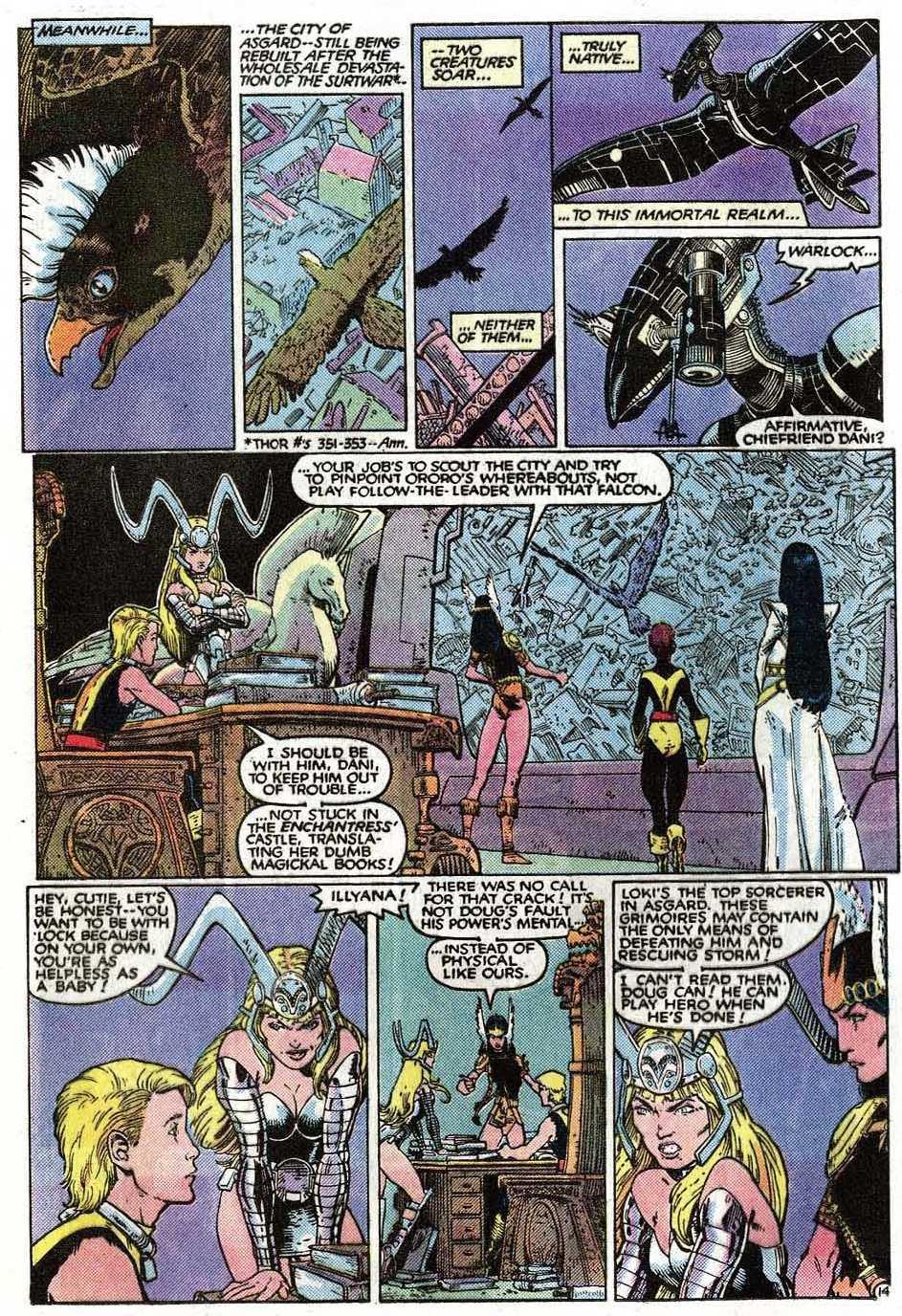 Read online Uncanny X-Men (1963) comic -  Issue # _Annual 9 - 16