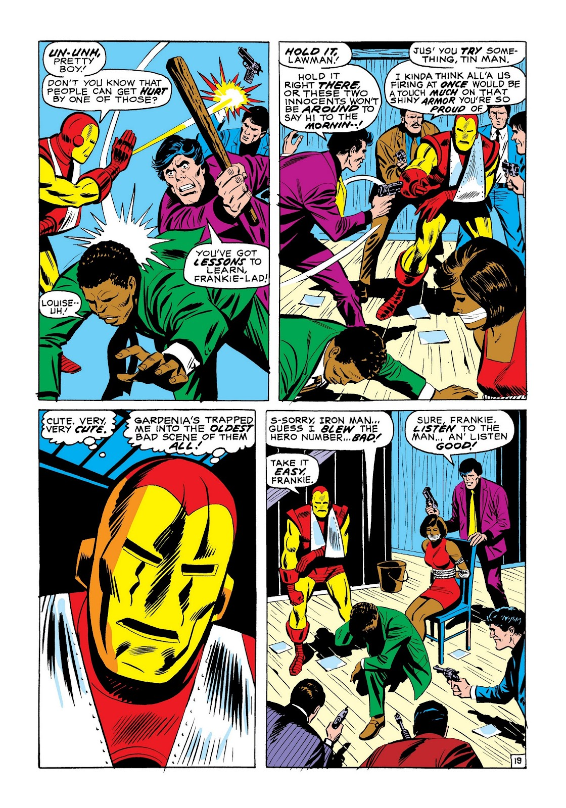 Read online Marvel Masterworks: The Invincible Iron Man comic -  Issue # TPB 7 (Part 3) - 87