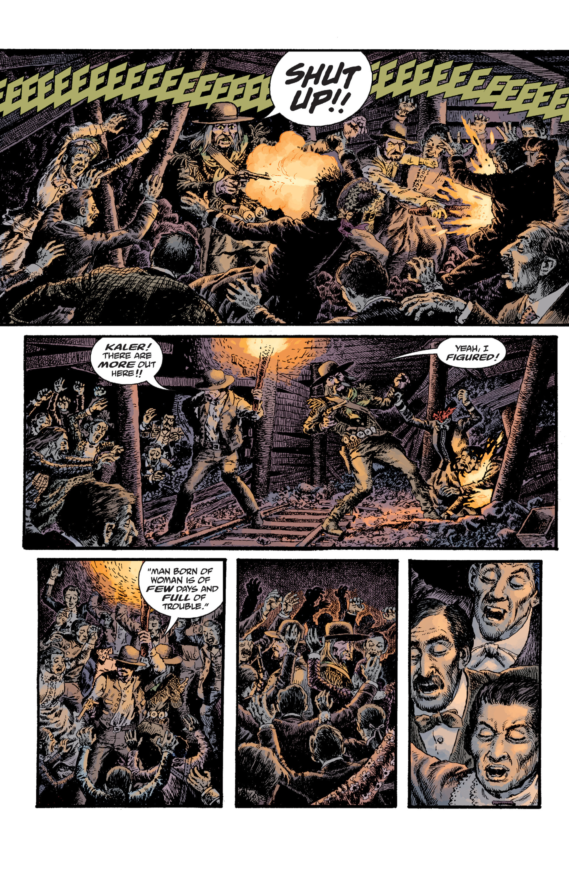 Read online Sir Edward Grey, Witchfinder: Lost and Gone Forever comic -  Issue # TPB - 87