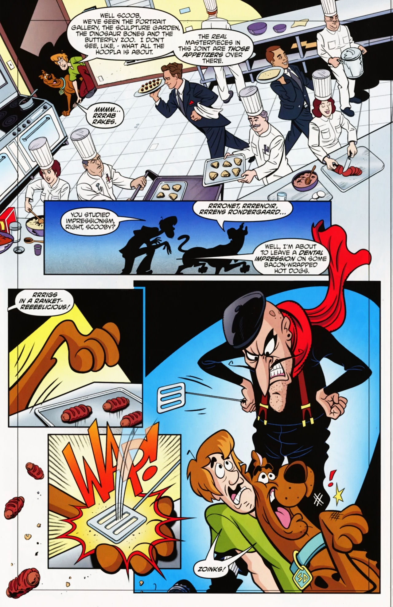 Read online Scooby-Doo: Where Are You? comic -  Issue #12 - 5