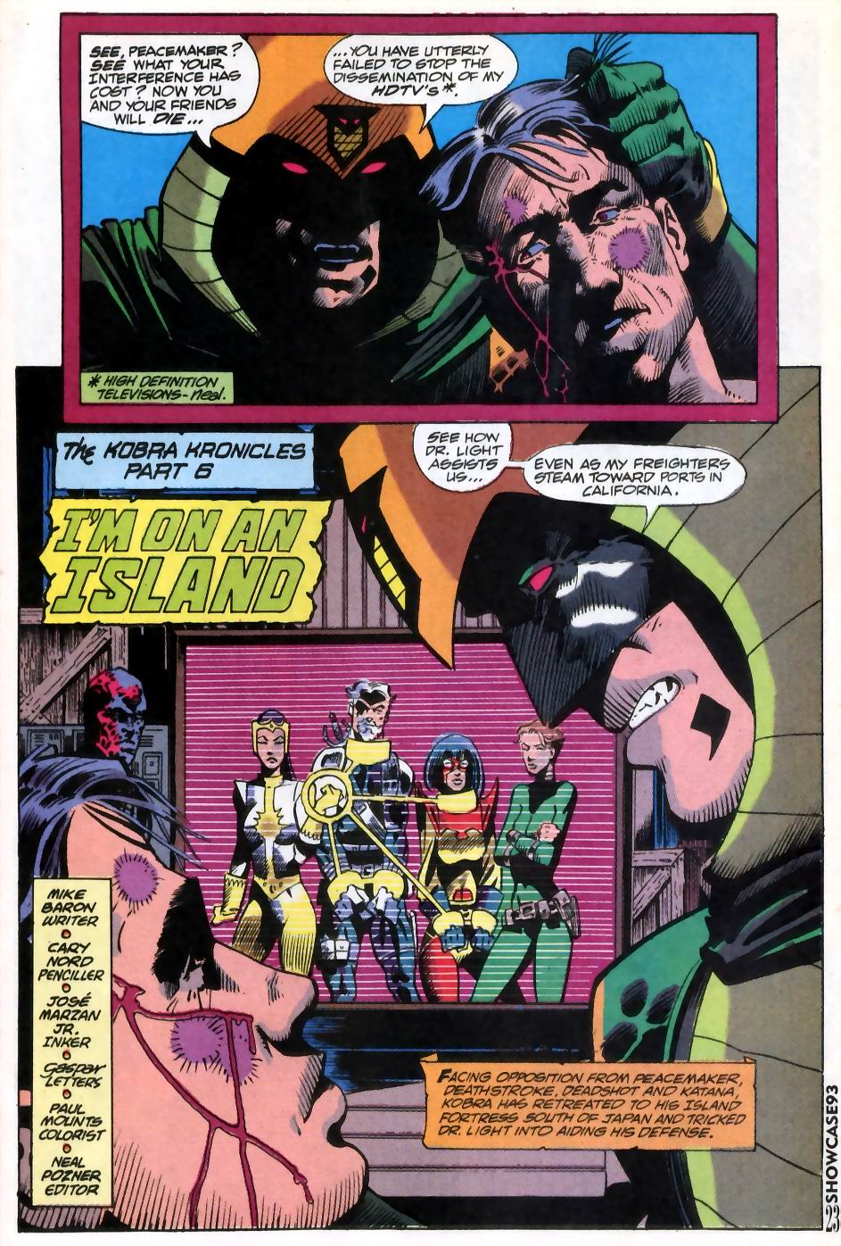 Read online Showcase '93 comic -  Issue #11 - 20