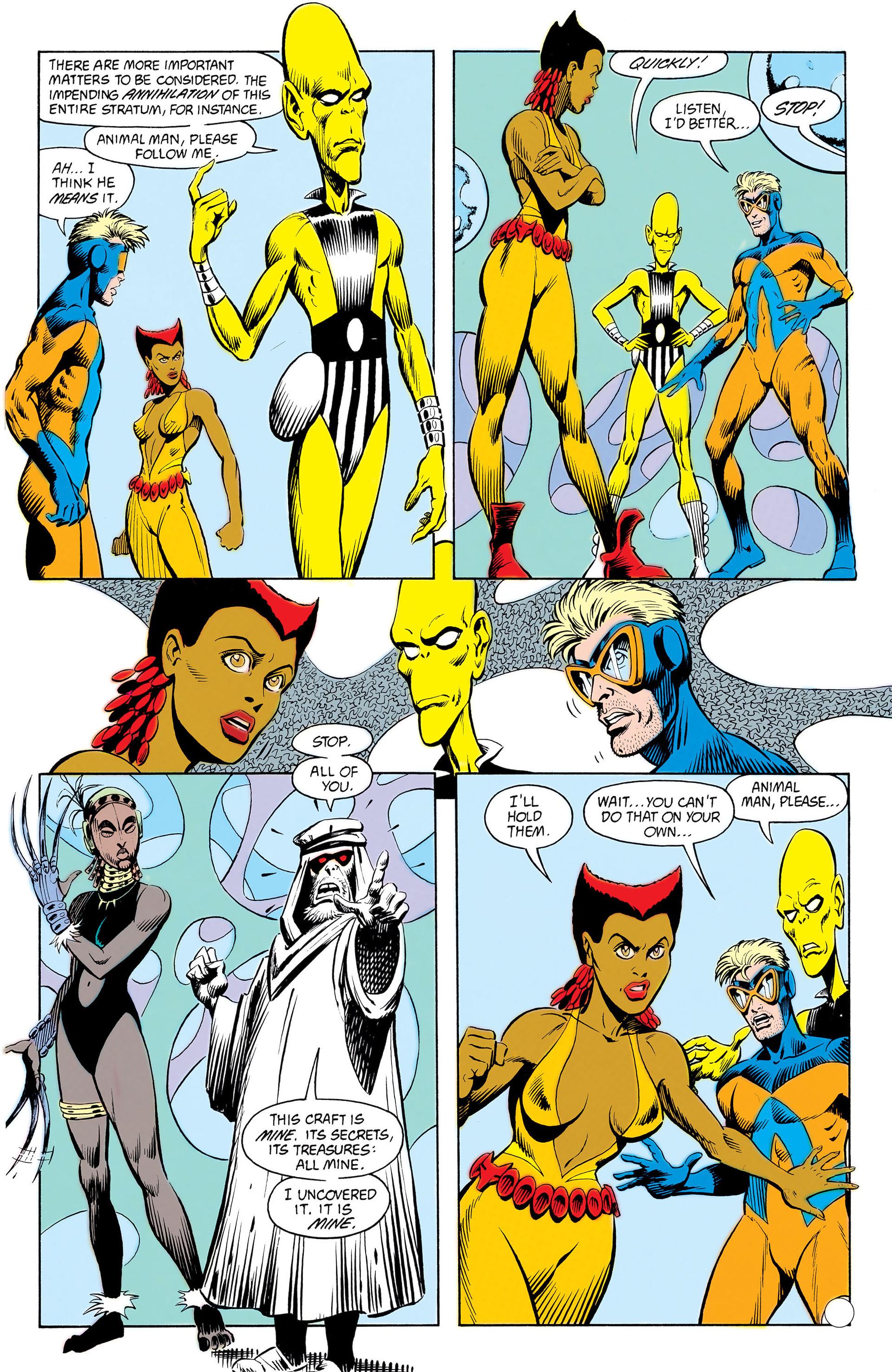 Read online Animal Man (1988) comic -  Issue #12 - 16