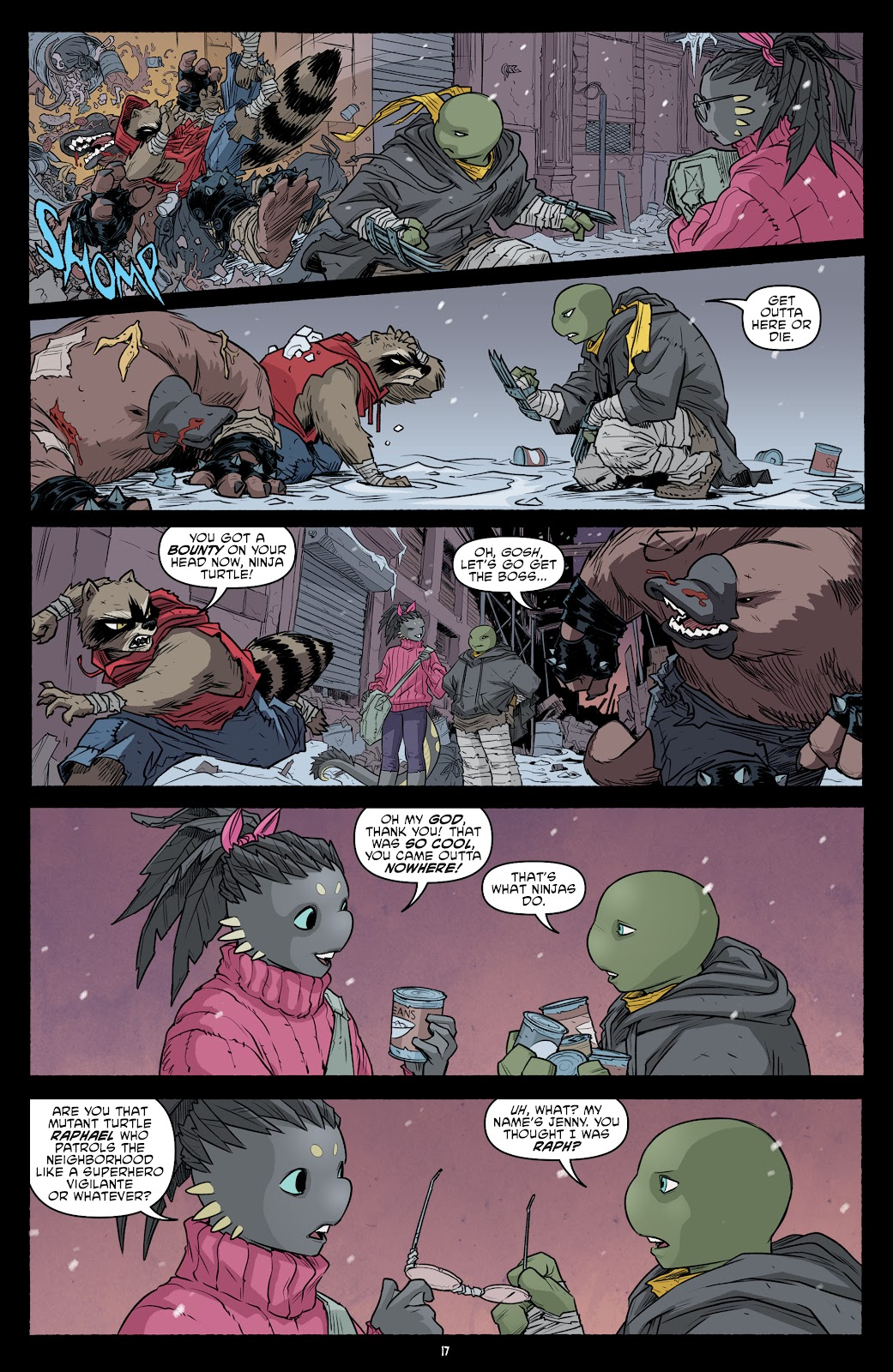 Read online Teenage Mutant Ninja Turtles (2011) comic -  Issue #101 - 19