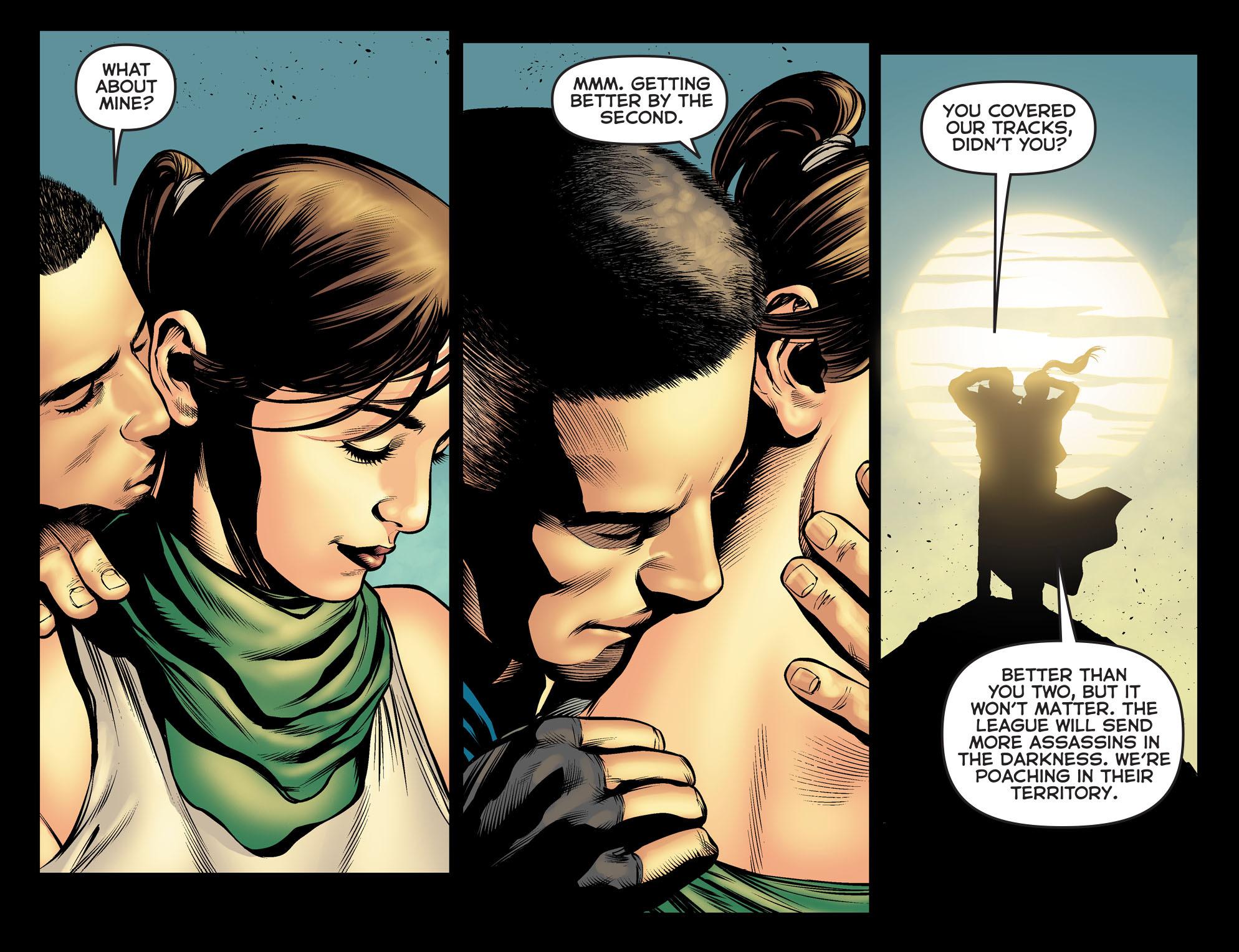 Read online Arrow: The Dark Archer comic -  Issue #5 - 16