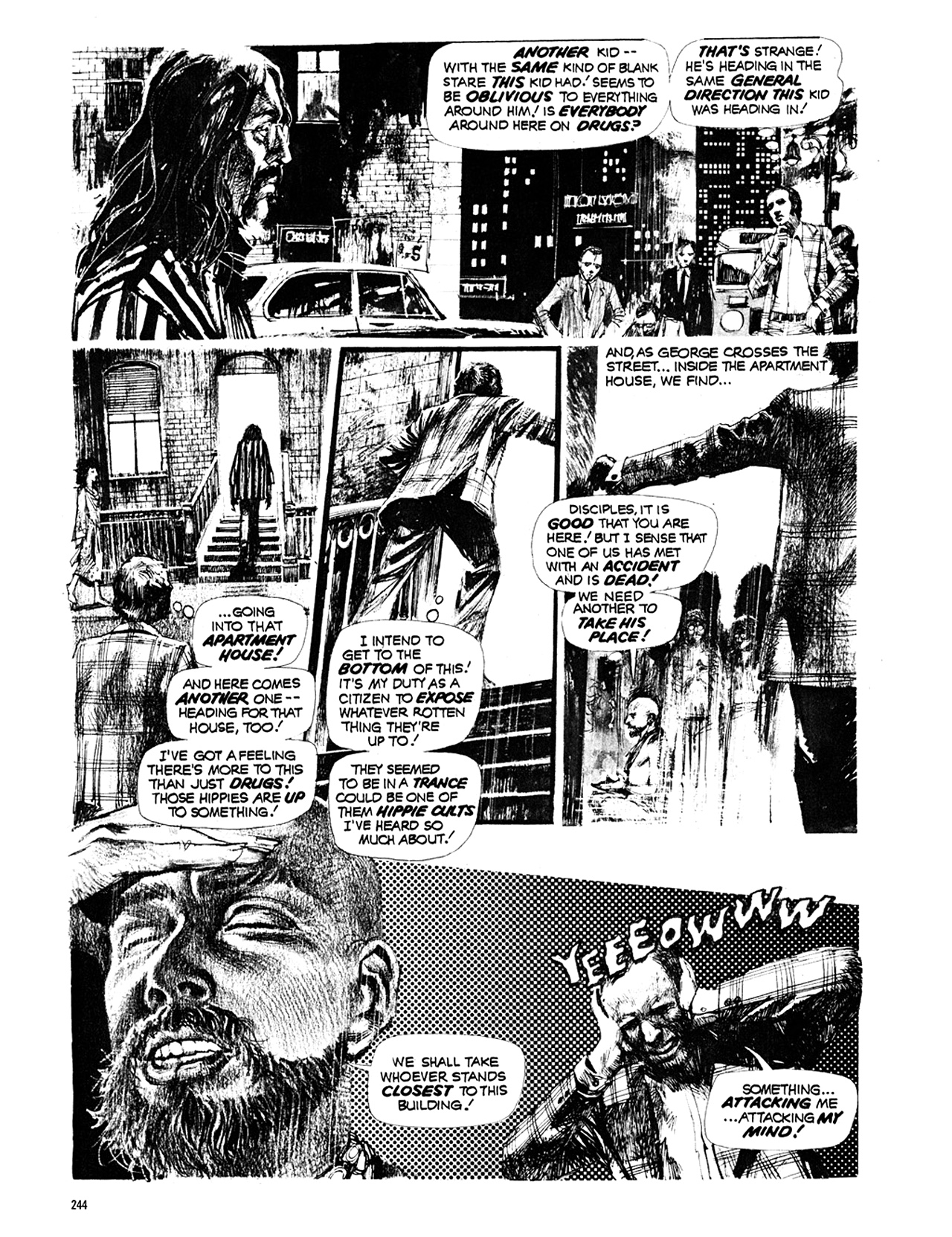 Read online Eerie Archives comic -  Issue # TPB 10 - 245