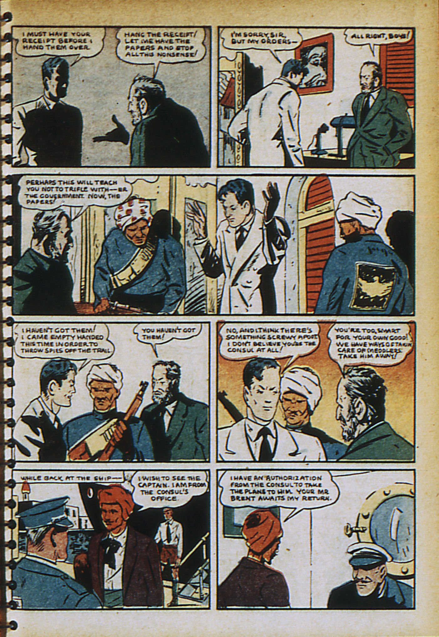Read online Adventure Comics (1938) comic -  Issue #30 - 12
