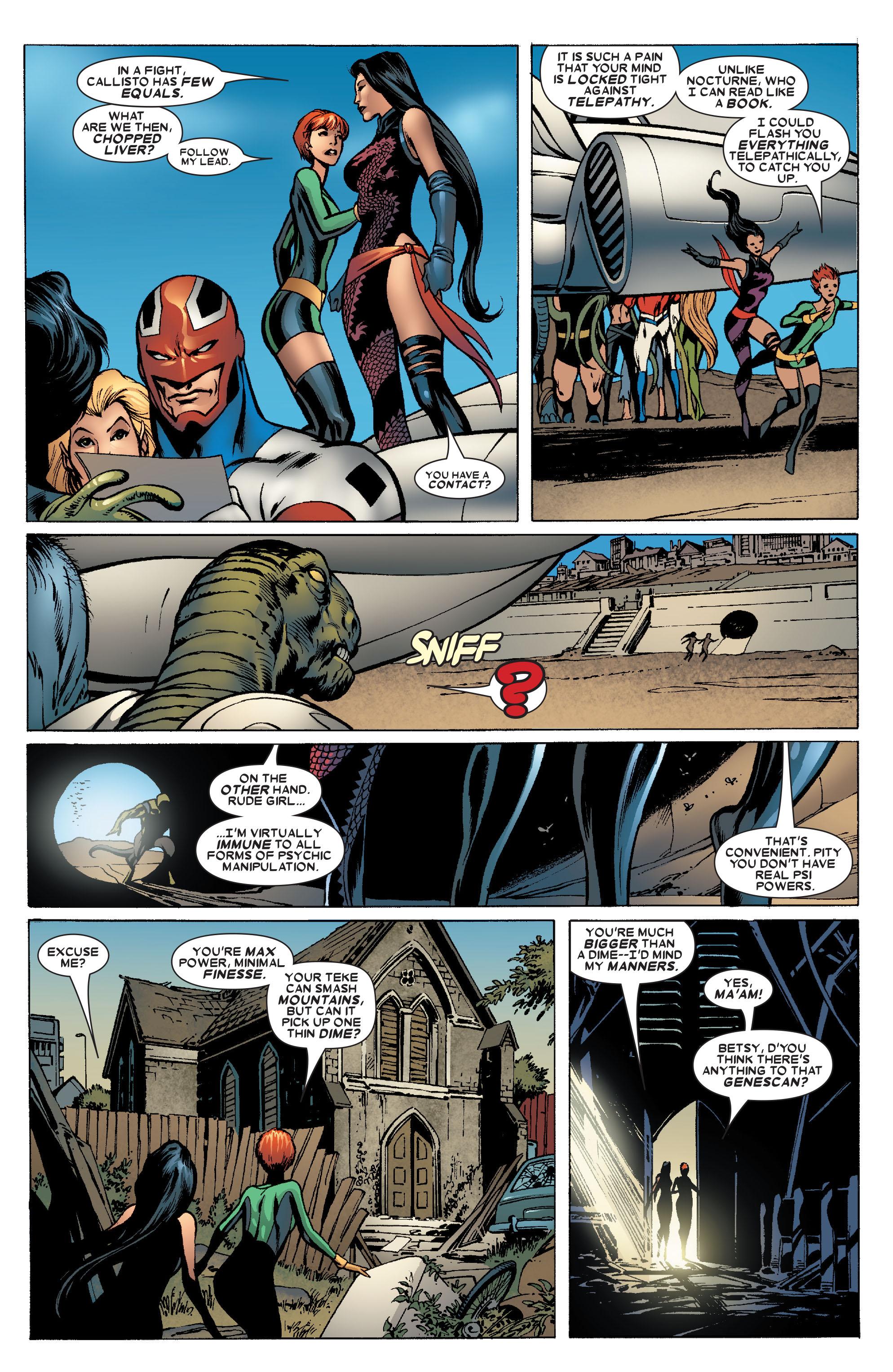 Read online Uncanny X-Men (1963) comic -  Issue #463 - 22
