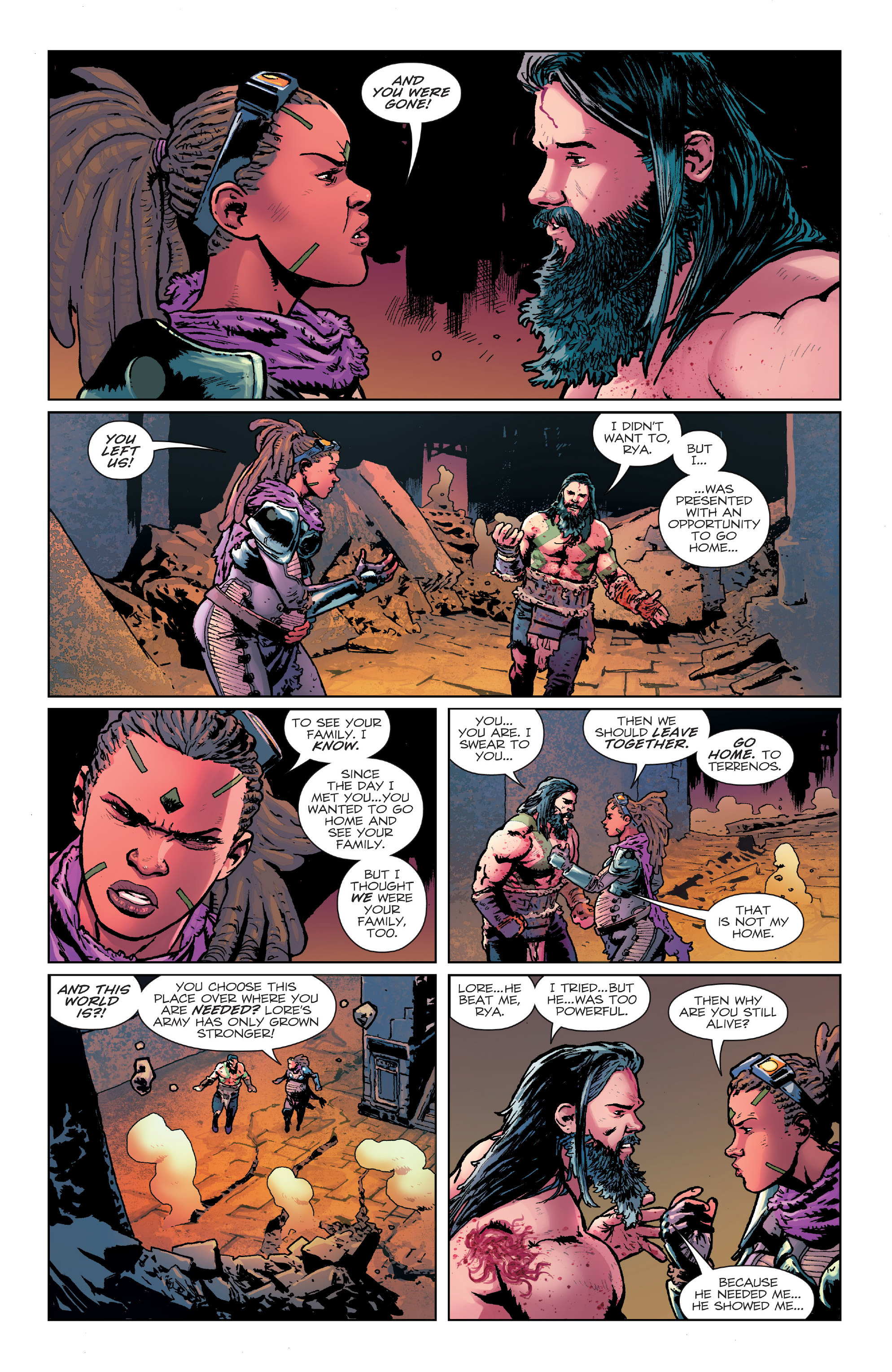 Read online Birthright (2014) comic -  Issue #24 - 5