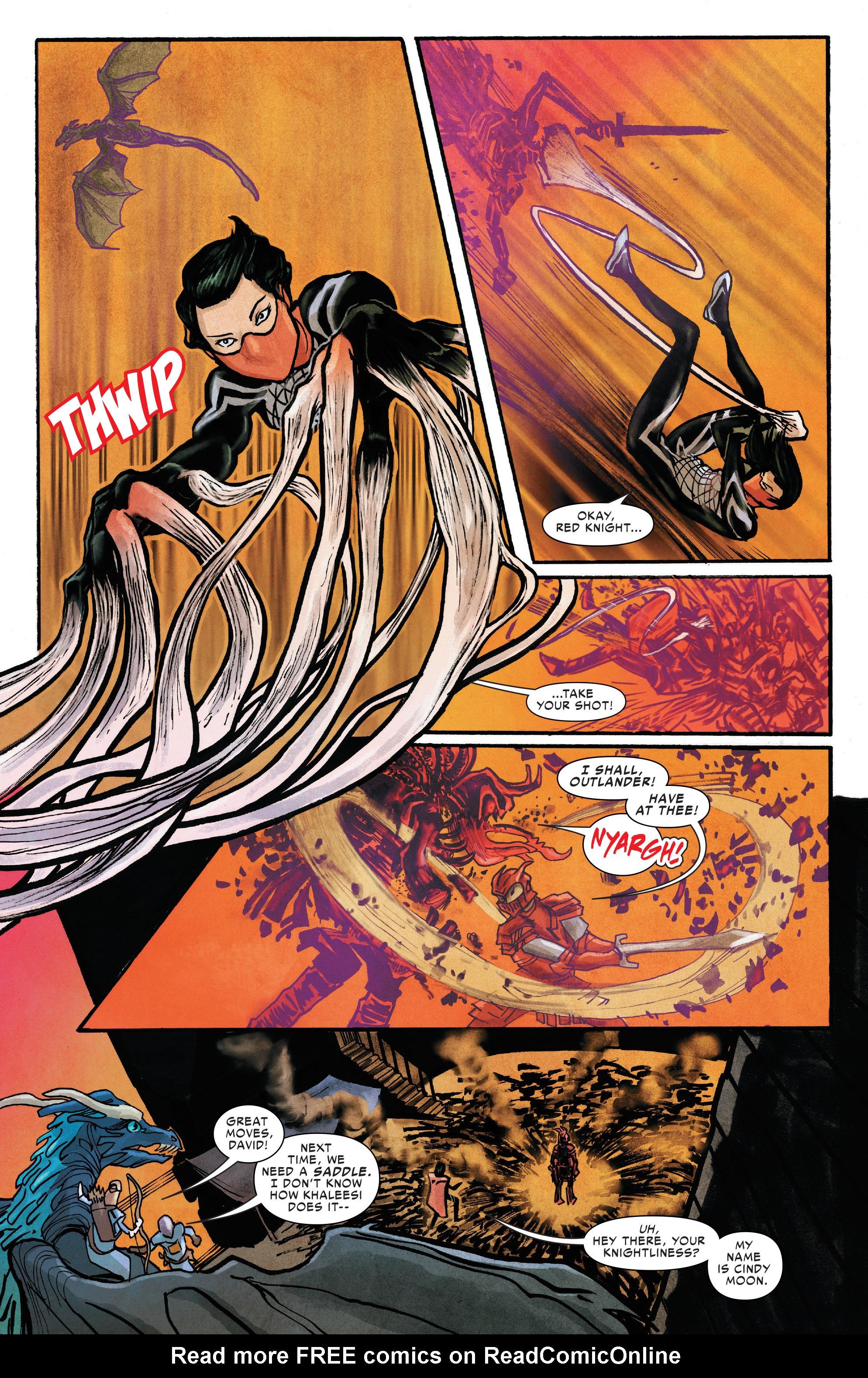 Read online Silk (2016) comic -  Issue #12 - 19
