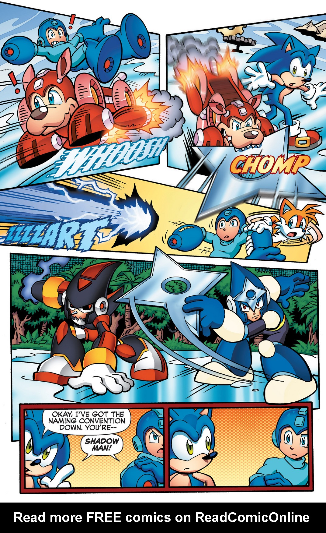 Read online Sonic Mega Man Worlds Collide comic -  Issue # Vol 2 - 62