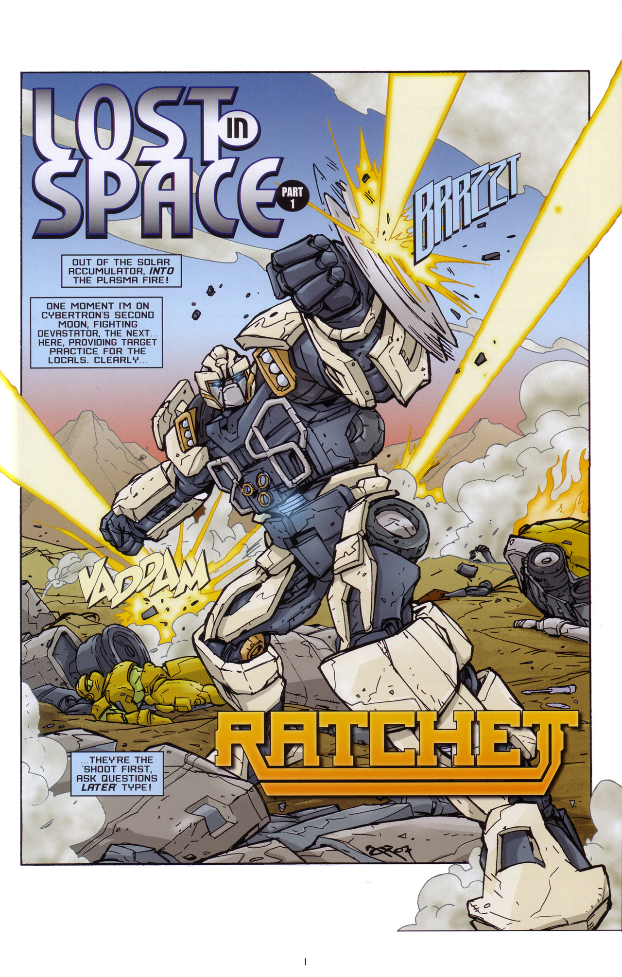 Read online Transformers: Saga of the Allspark comic -  Issue #2 - 4