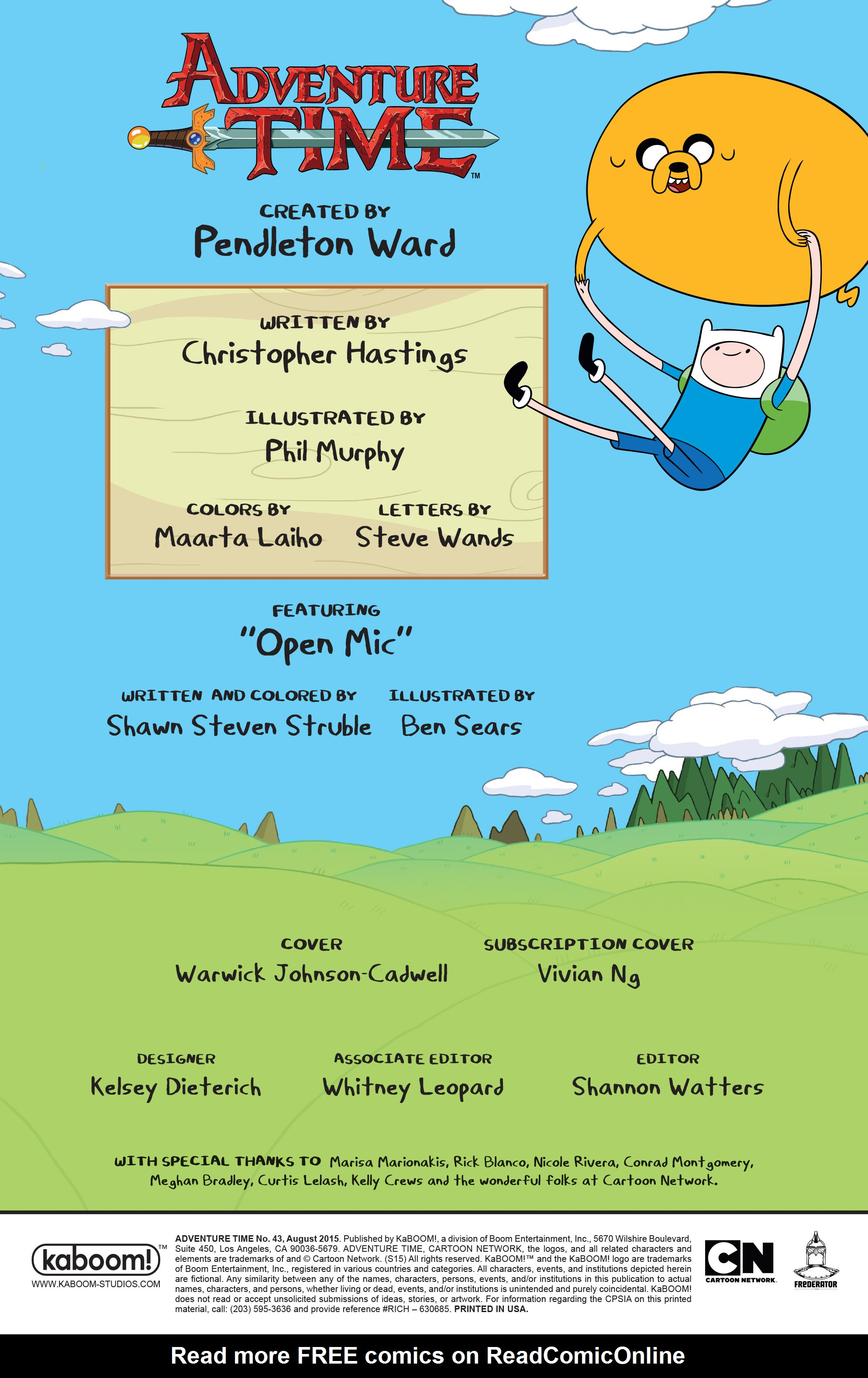 Read online Adventure Time comic -  Issue #43 - 2