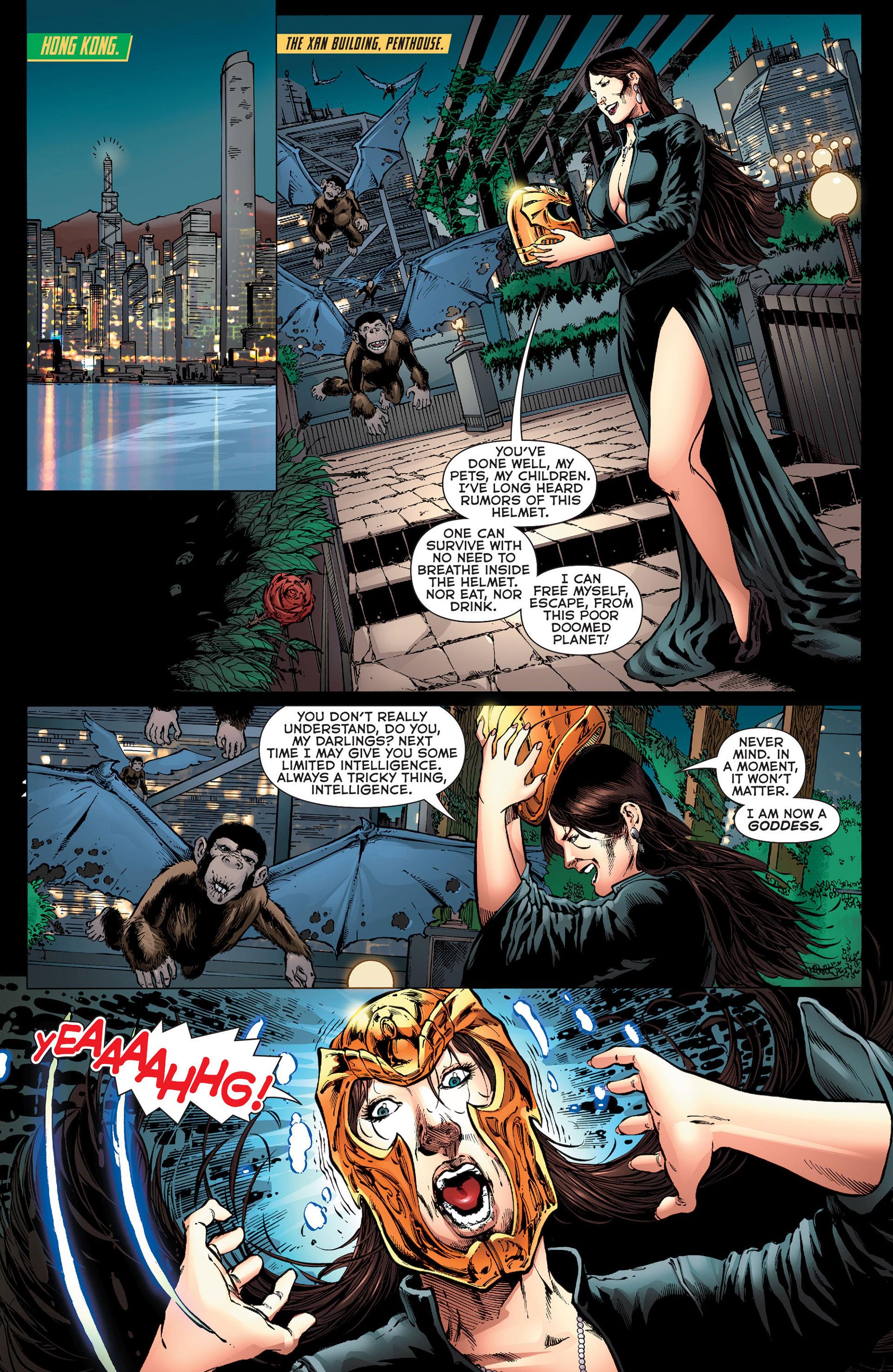 Read online Aquaman (2011) comic -  Issue #Aquaman (2011) _Annual 1 - 19