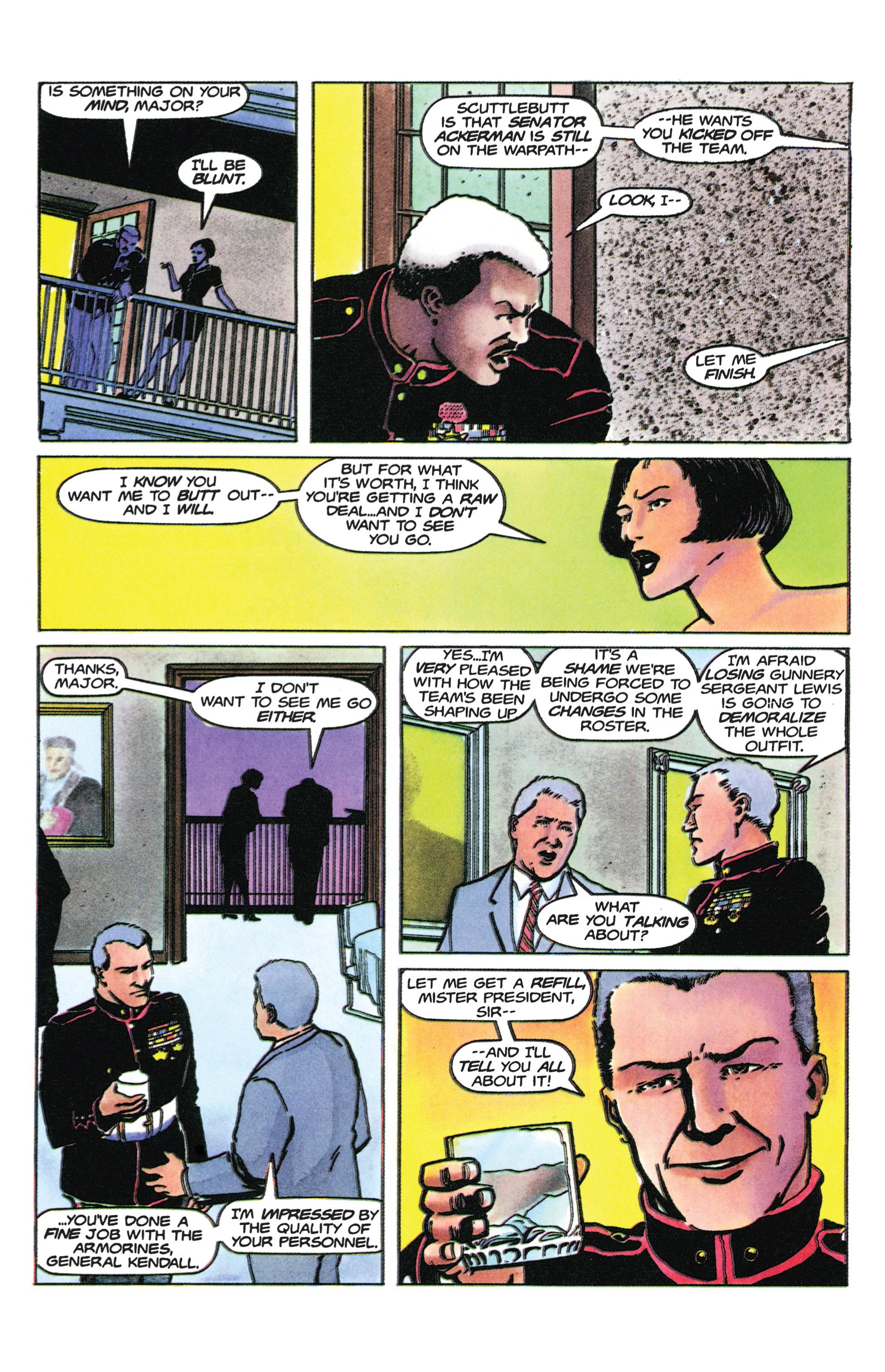 Read online Armorines comic -  Issue #9 - 8