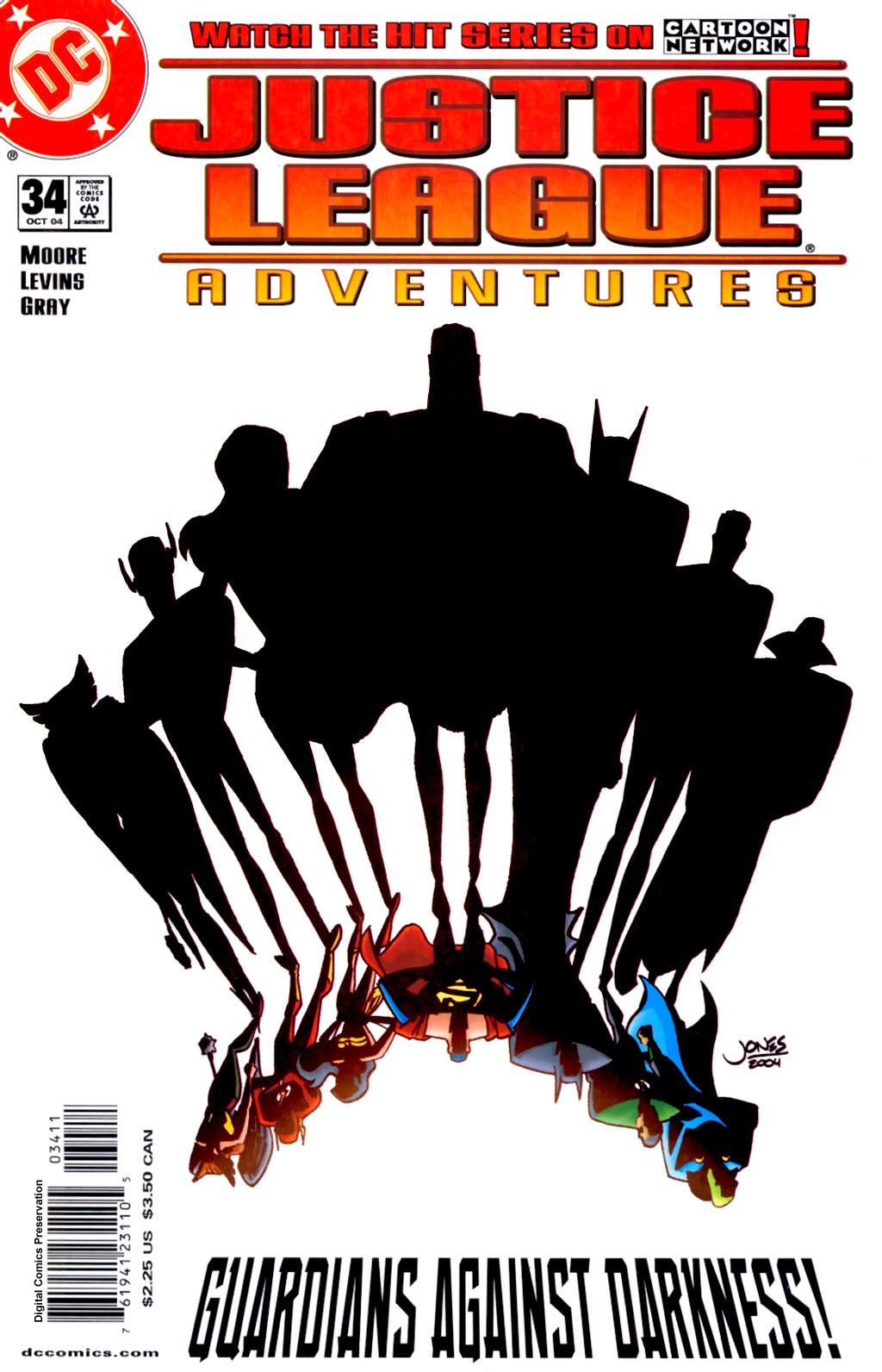 Justice League Adventures 34 Page 1