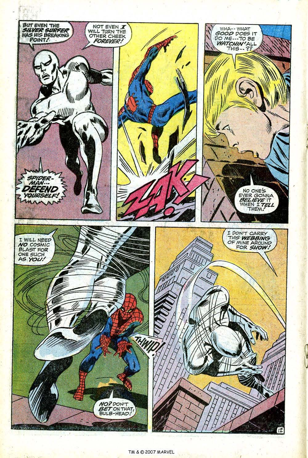 Read online Silver Surfer (1968) comic -  Issue #14 - 18