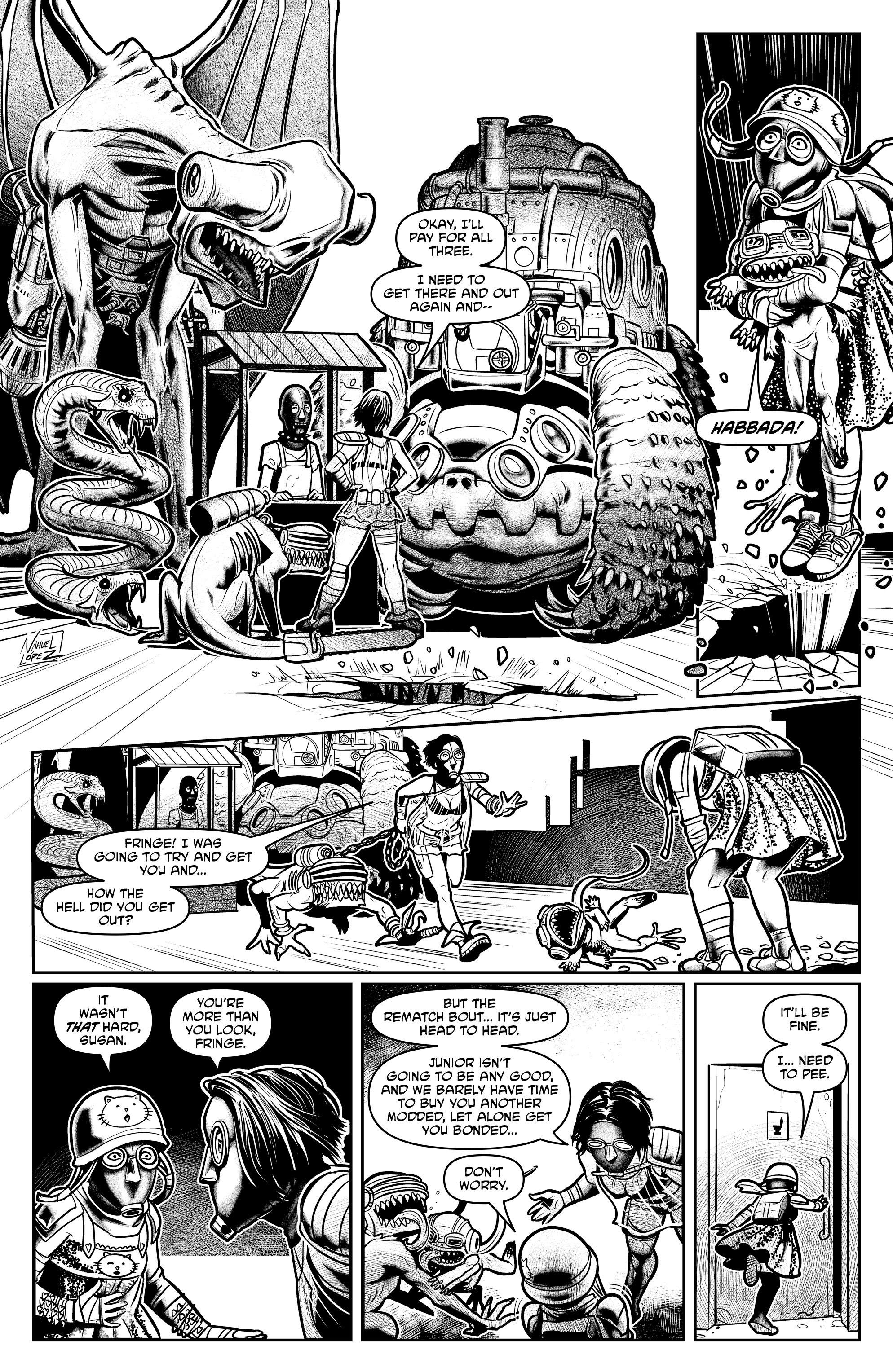 Read online Alan Moore's Cinema Purgatorio comic -  Issue #7 - 31