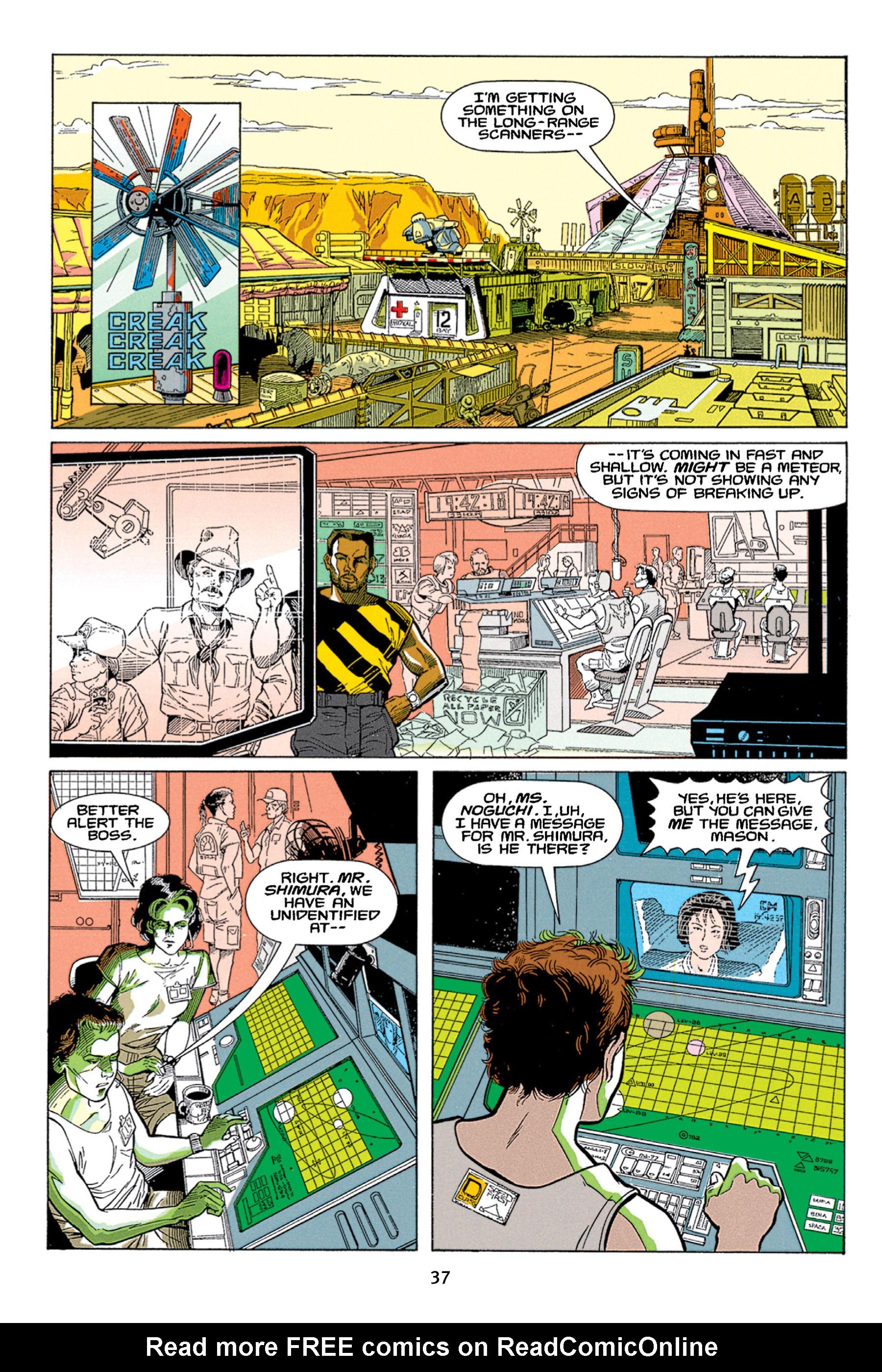 Read online Aliens vs. Predator Omnibus comic -  Issue # _TPB 1 Part 1 - 37
