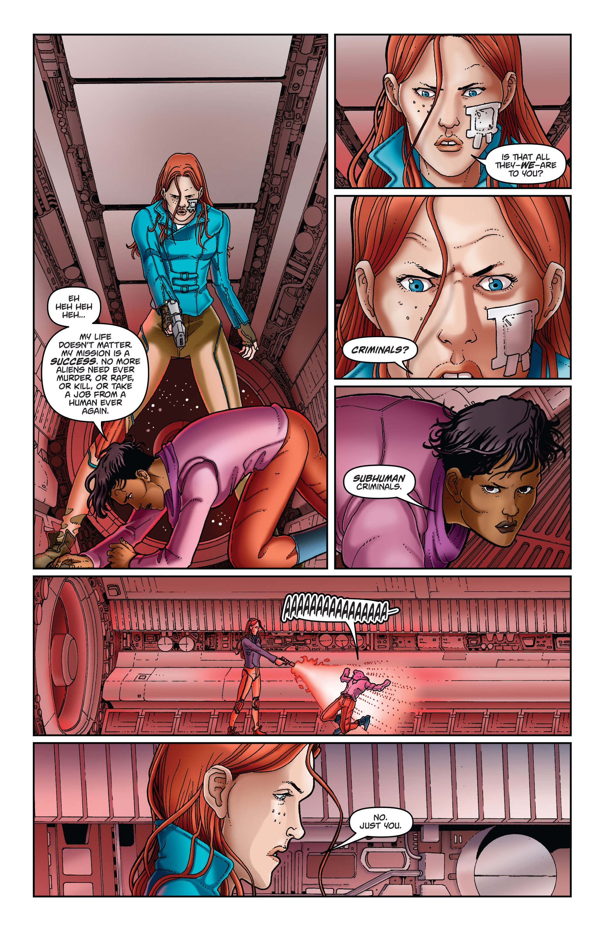 Read online Satellite Falling comic -  Issue #5 - 5