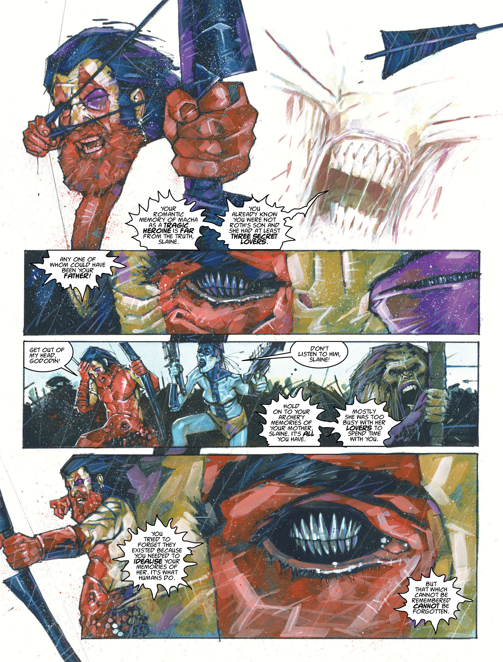 Read online 2000 AD comic -  Issue #1987 - 9