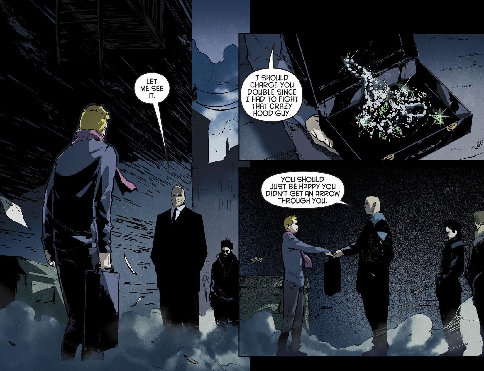 Read online Arrow [II] comic -  Issue #7 - 15