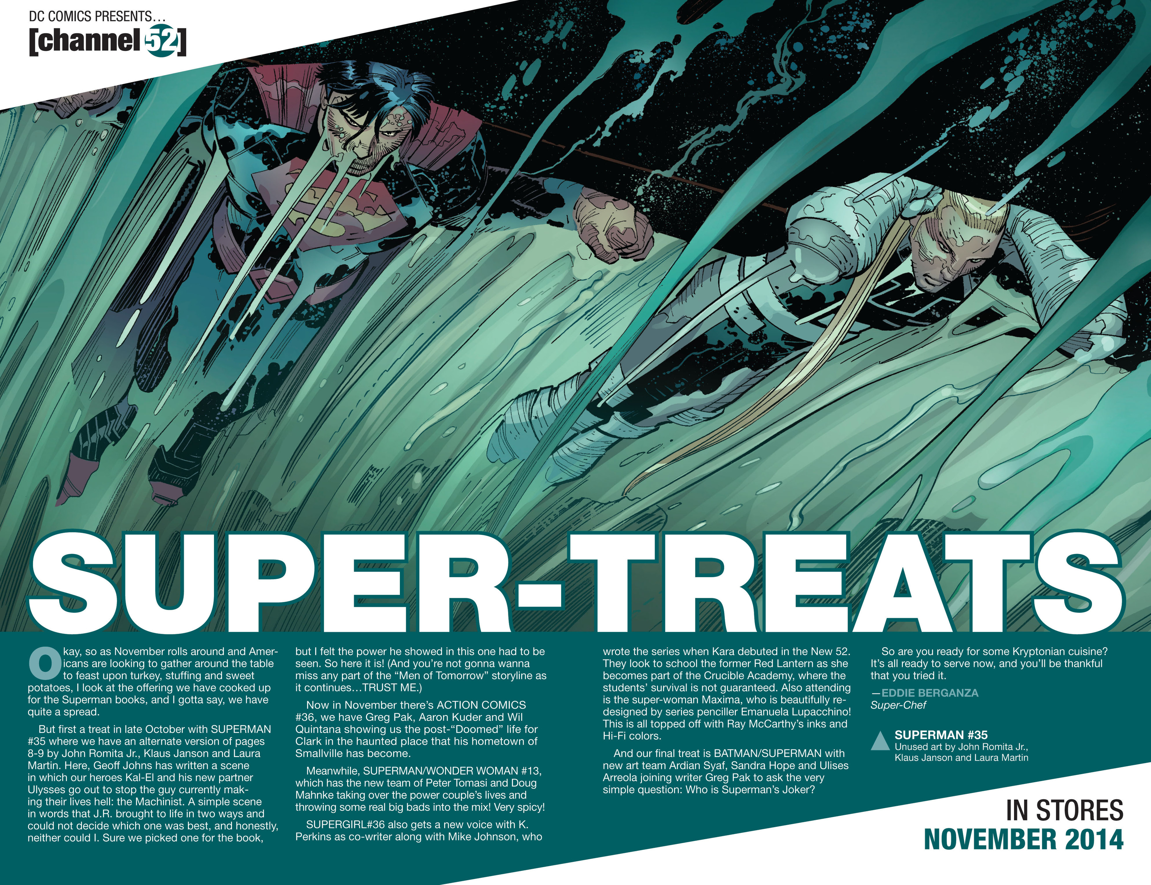 Read online Action Comics (2011) comic -  Issue #35 - 23