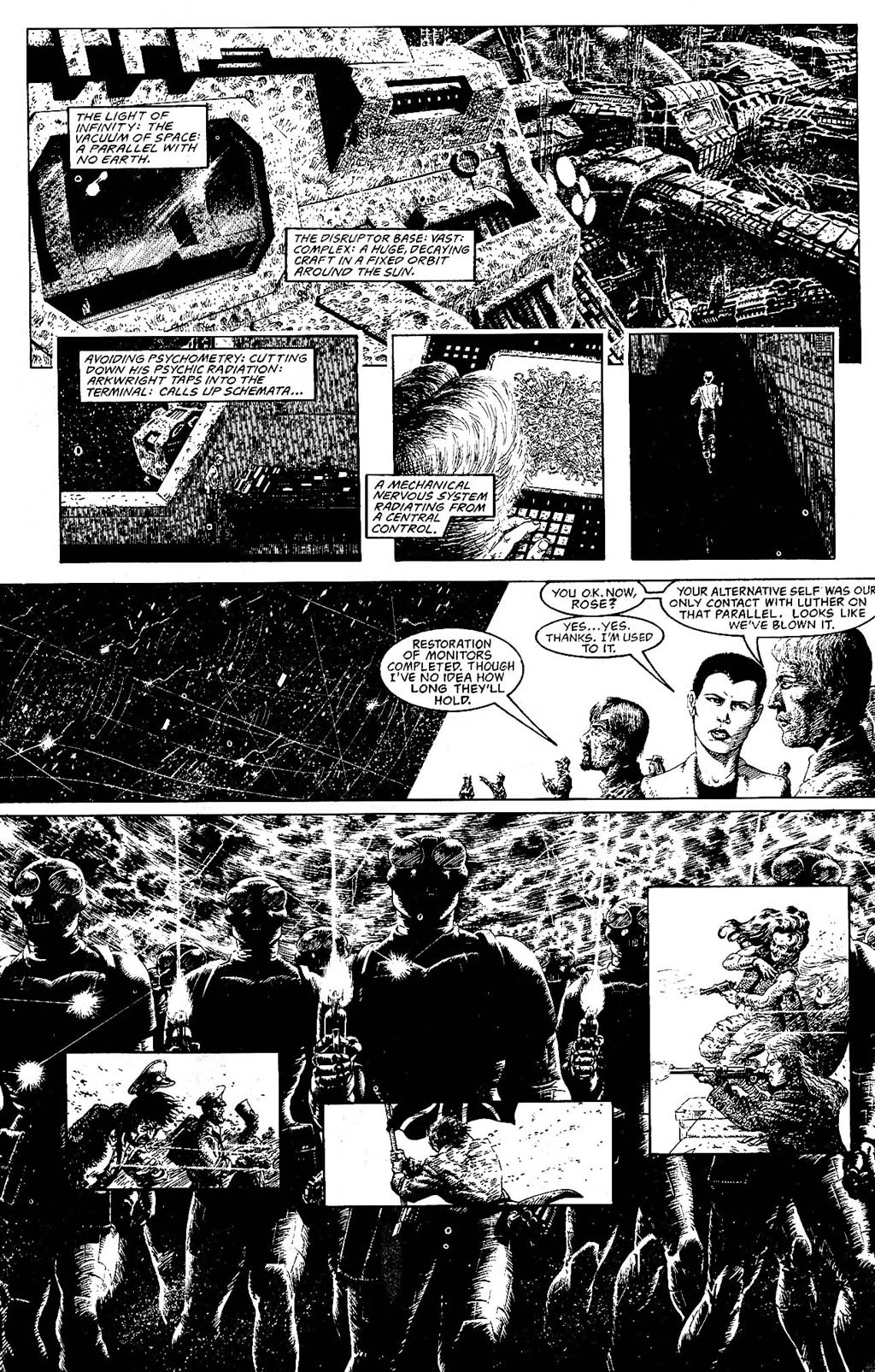 Read online The Adventures of Luther Arkwright comic -  Issue #9 - 8