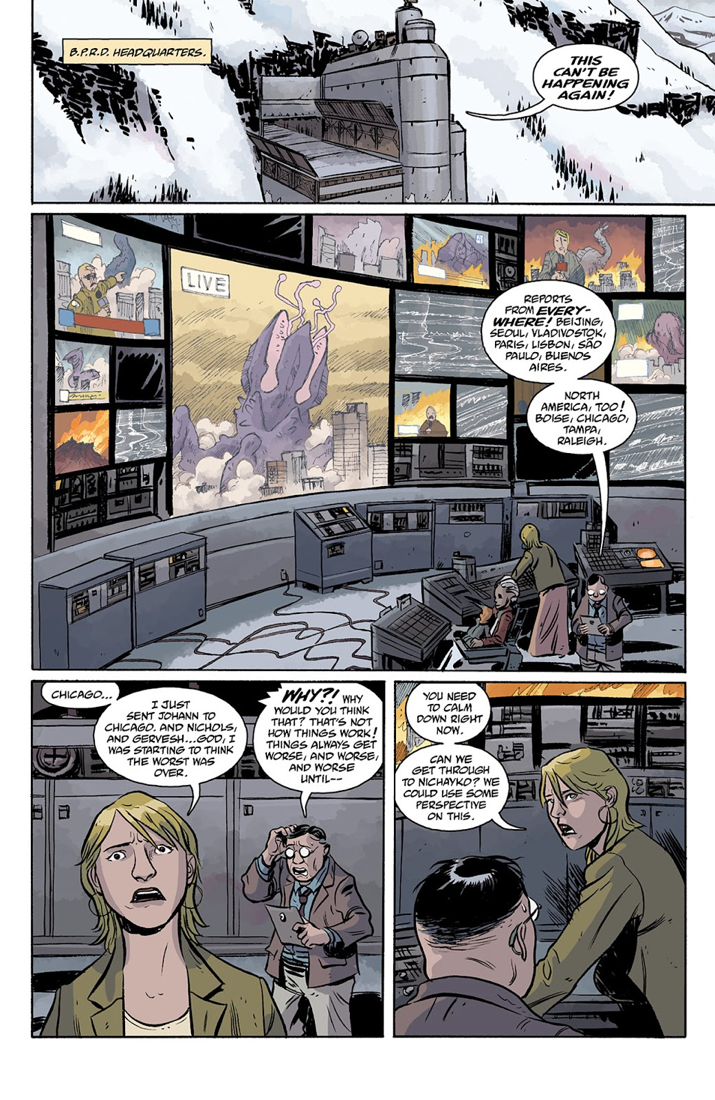 Read online B.P.R.D. Hell on Earth: The Return of the Master comic -  Issue #5 - 13