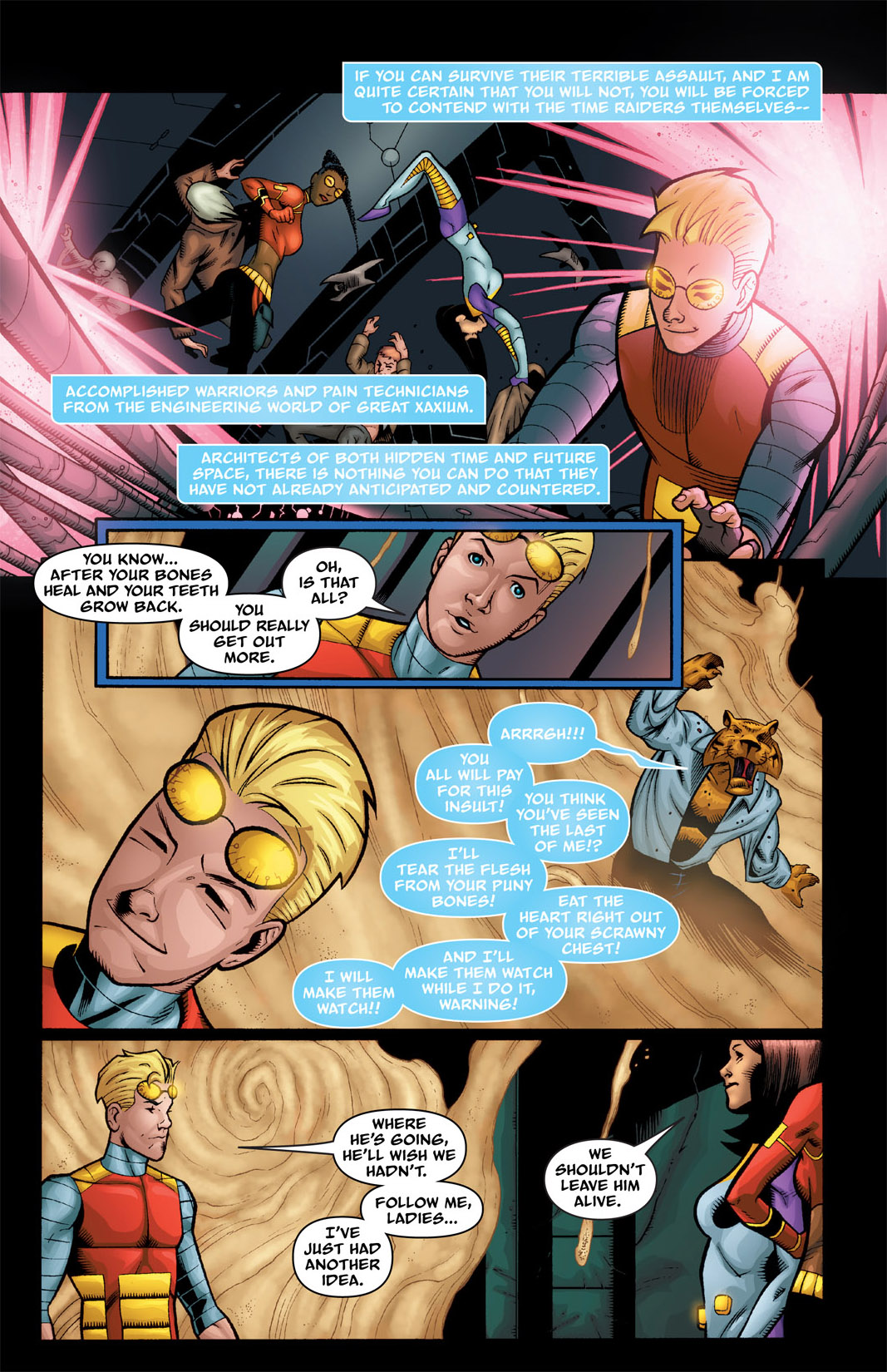 Read online The Many Adventures of Miranda Mercury: Time Runs Out comic -  Issue # TPB - 88
