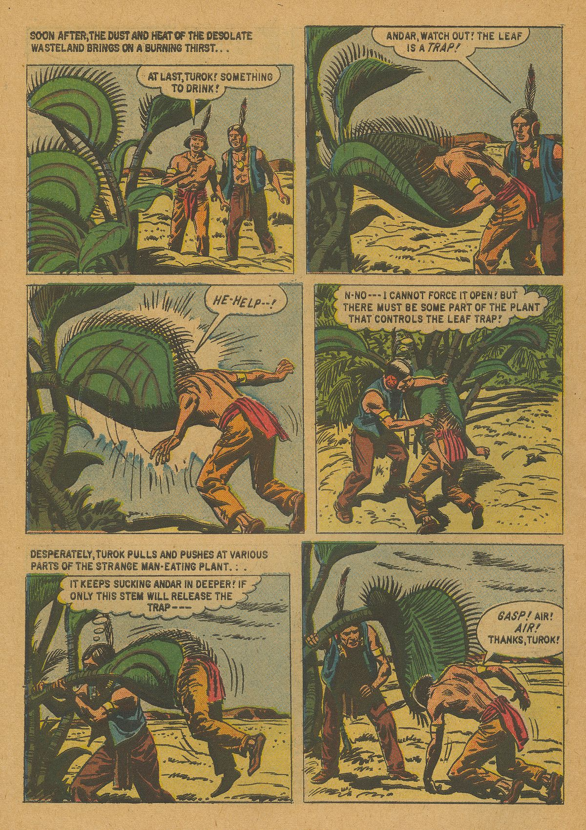 Read online Turok, Son of Stone comic -  Issue #21 - 30