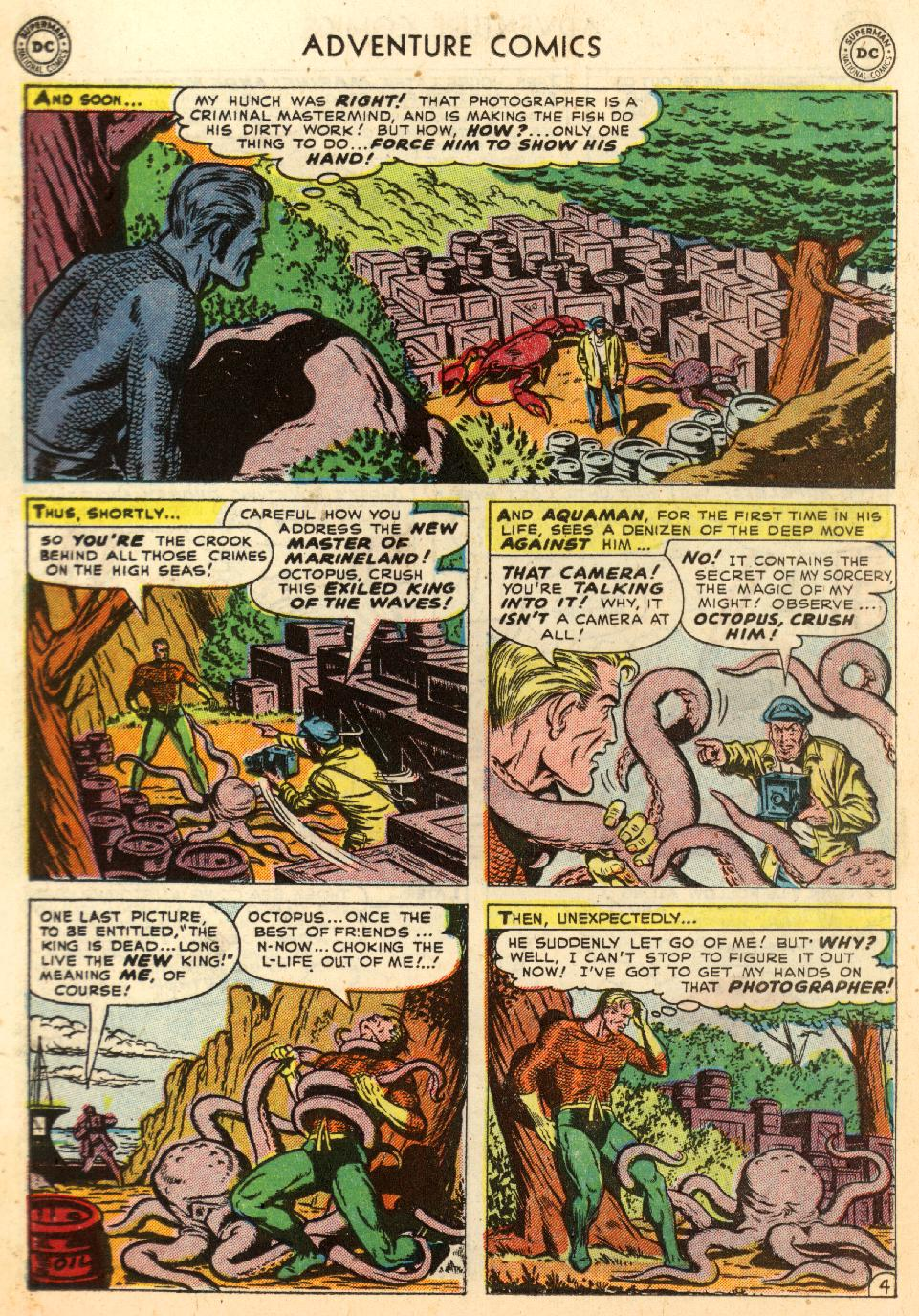 Read online Adventure Comics (1938) comic -  Issue #170 - 20