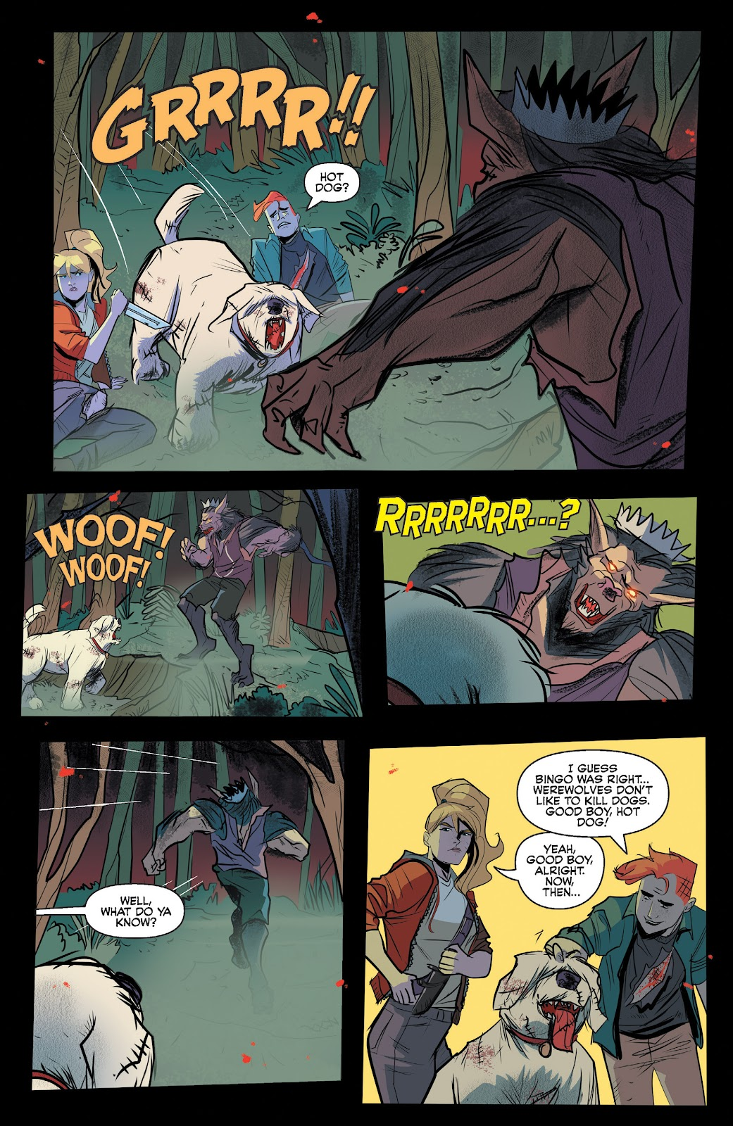 Read online Jughead The Hunger comic -  Issue #13 - 10