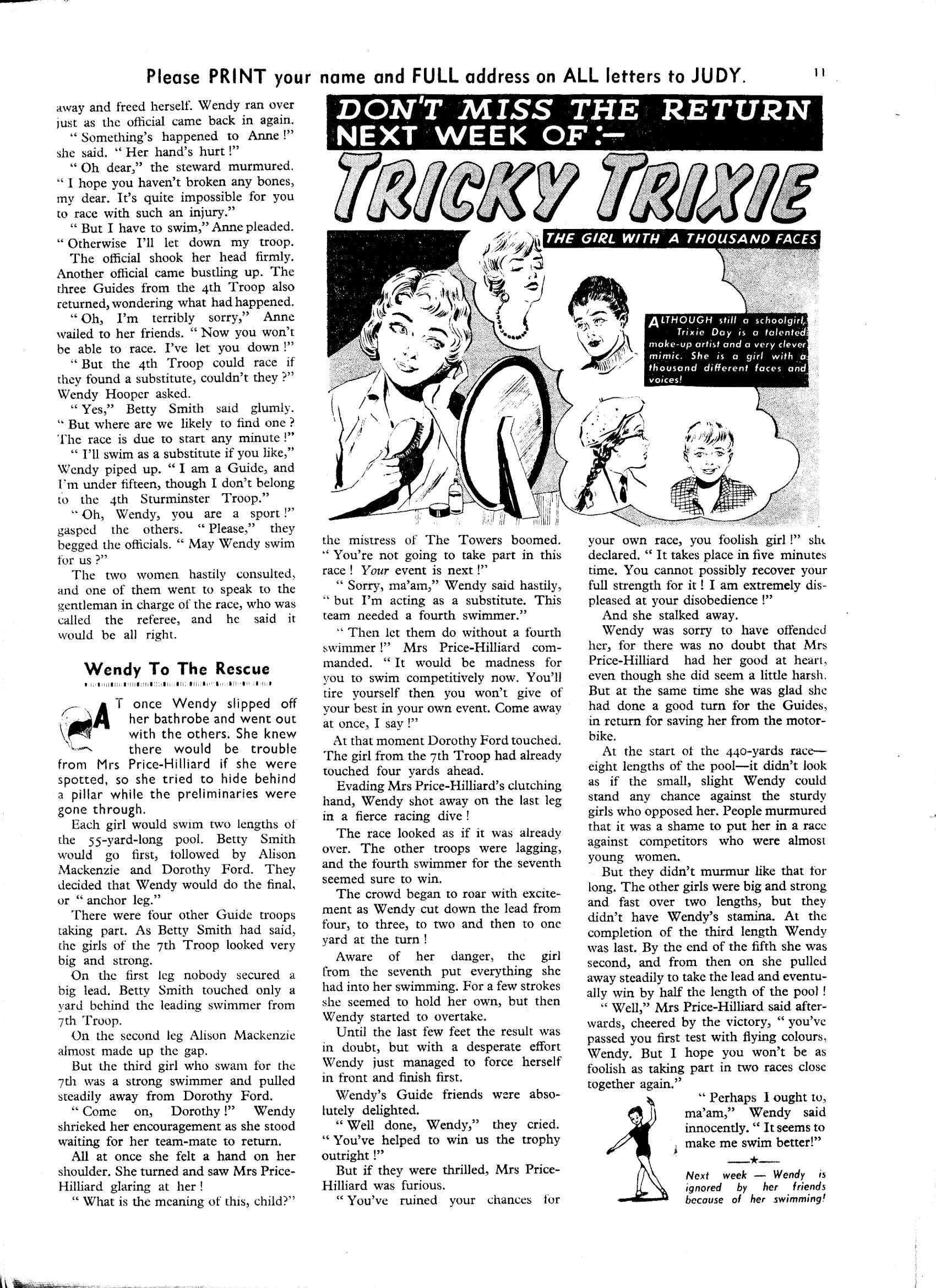 Read online Judy comic -  Issue #32 - 11