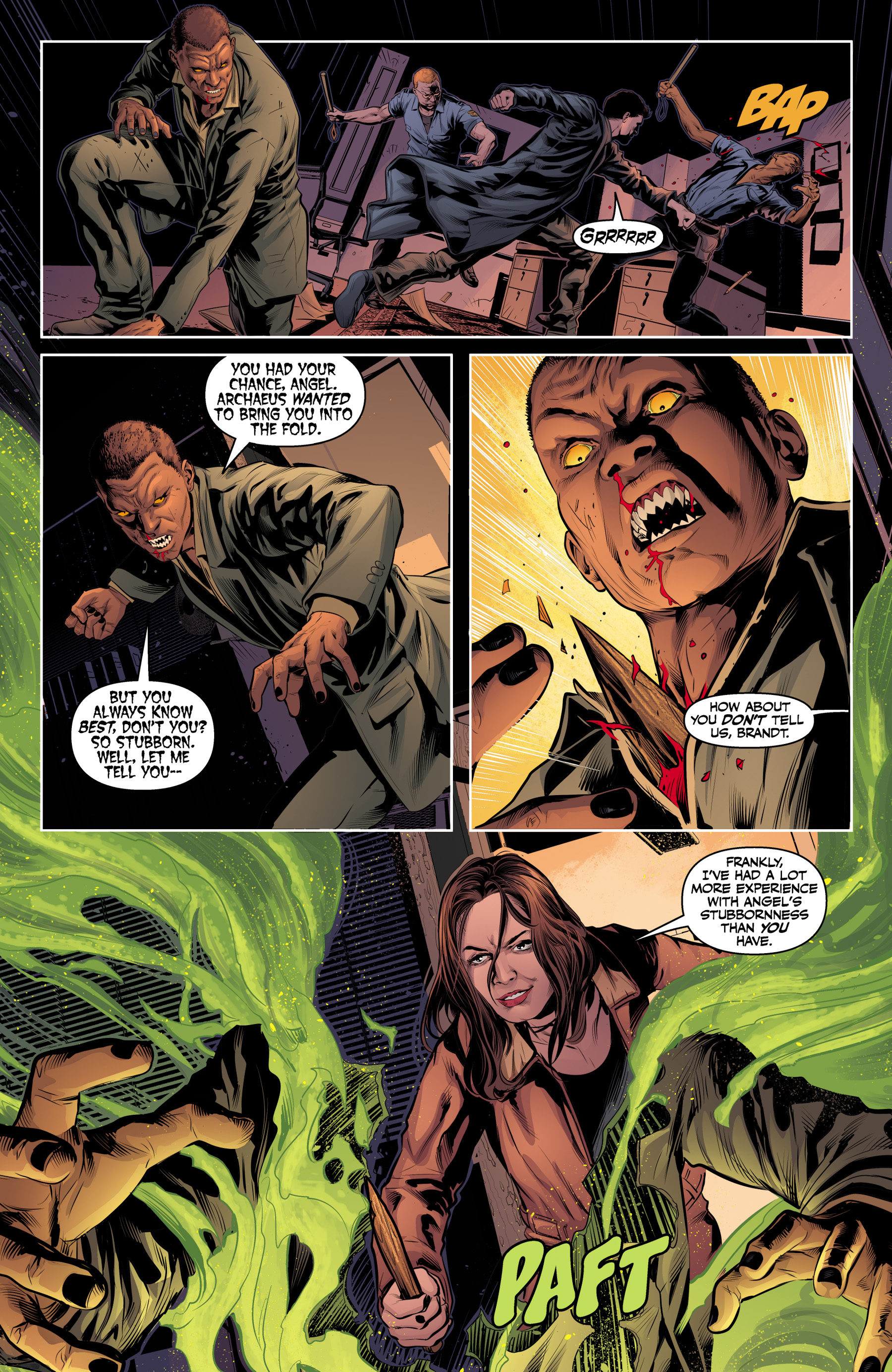 Read online Angel & Faith Season 10 comic -  Issue #23 - 14