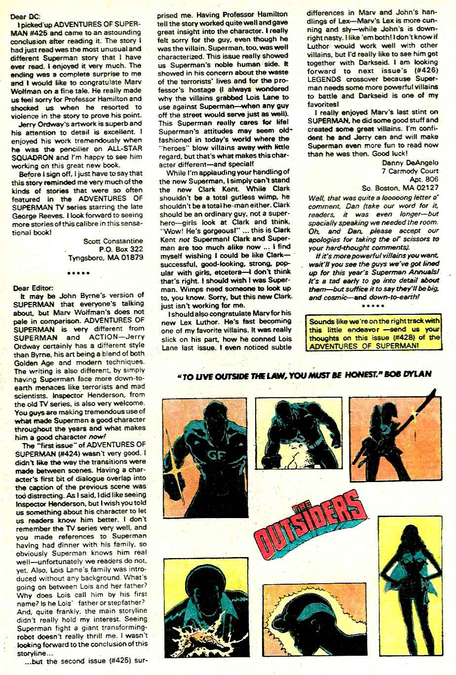 Read online Adventures of Superman (1987) comic -  Issue #428 - 24