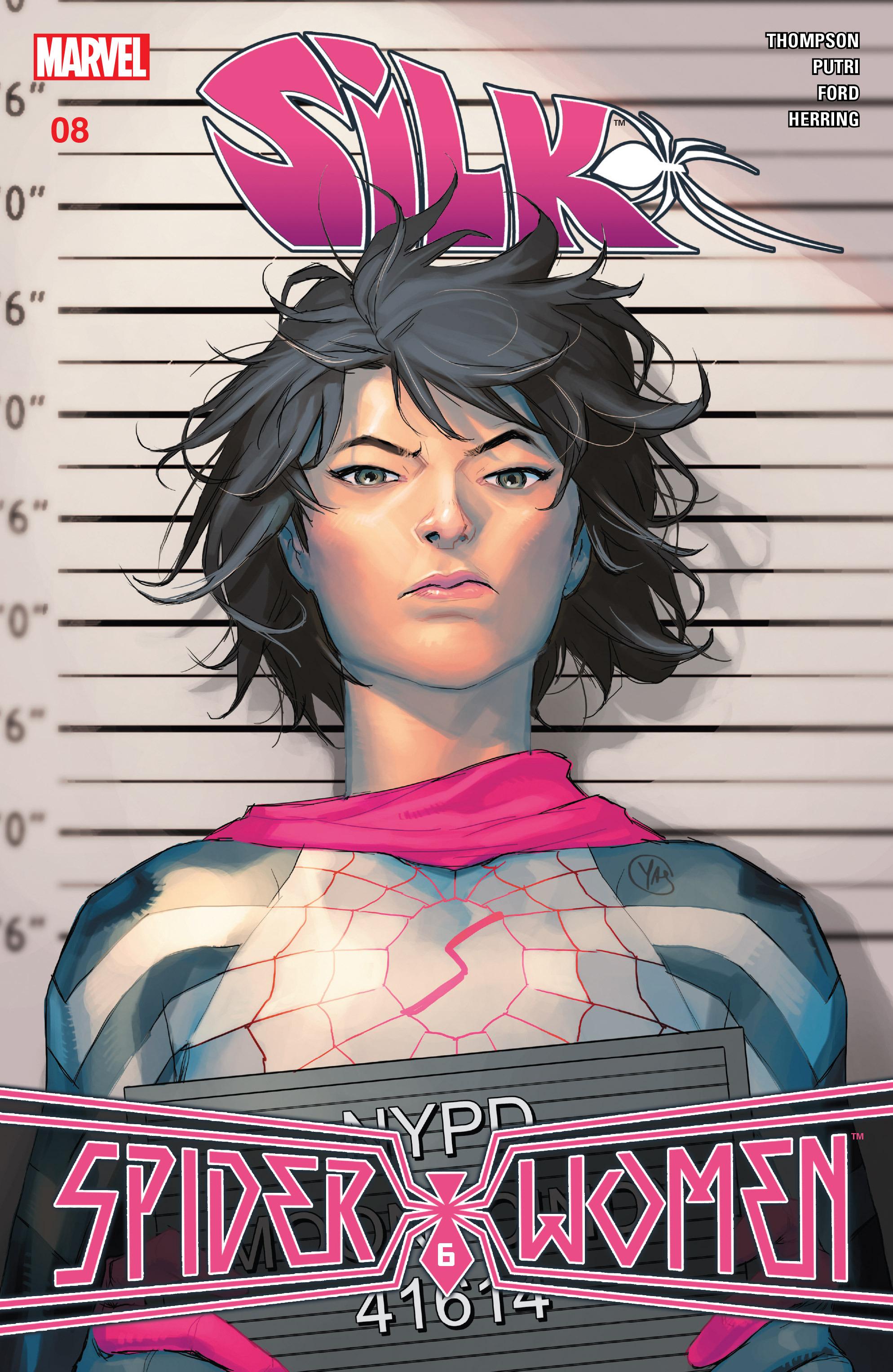 Read online Silk (2016) comic -  Issue #8 - 1