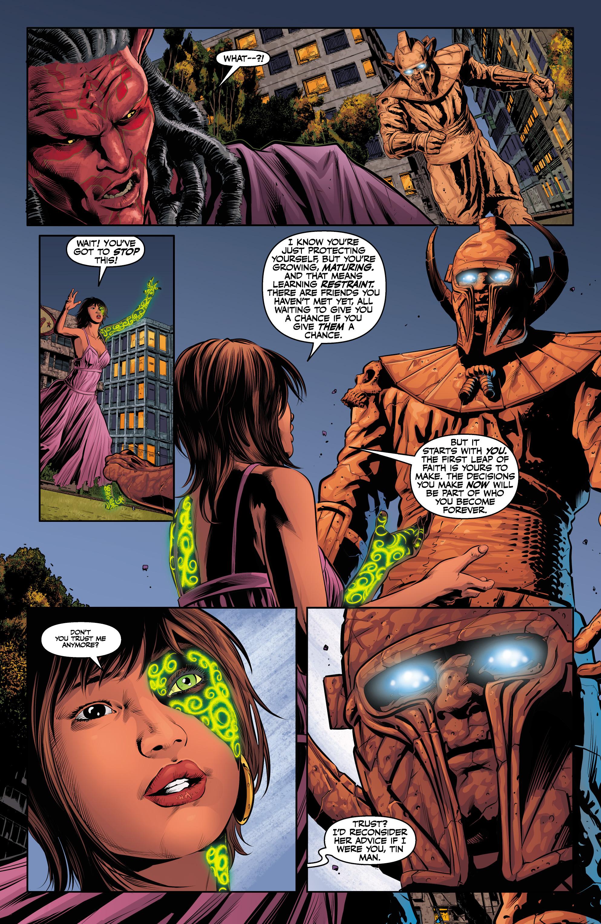 Read online Angel & Faith Season 10 comic -  Issue #24 - 8
