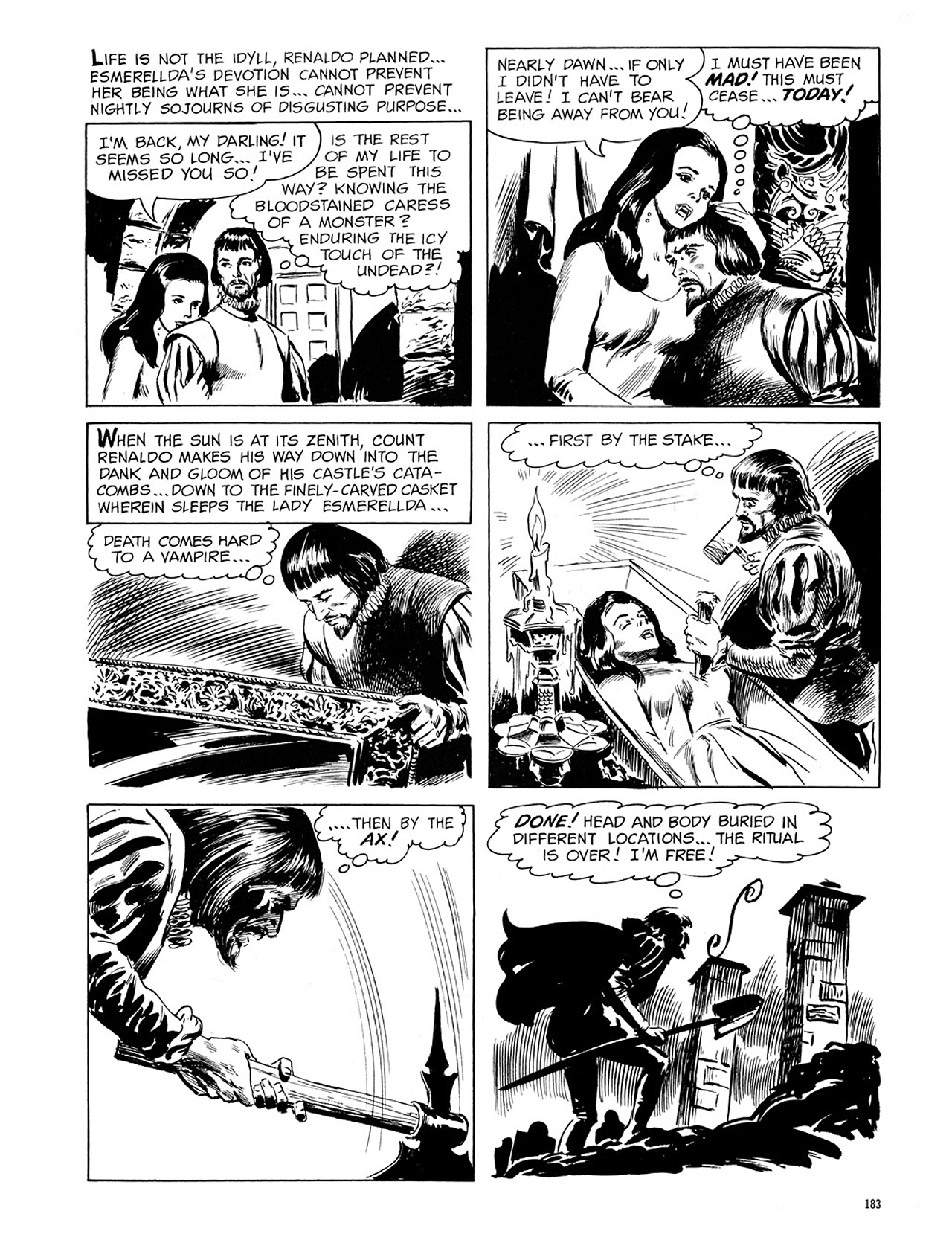 Read online Eerie Archives comic -  Issue # TPB 1 - 184