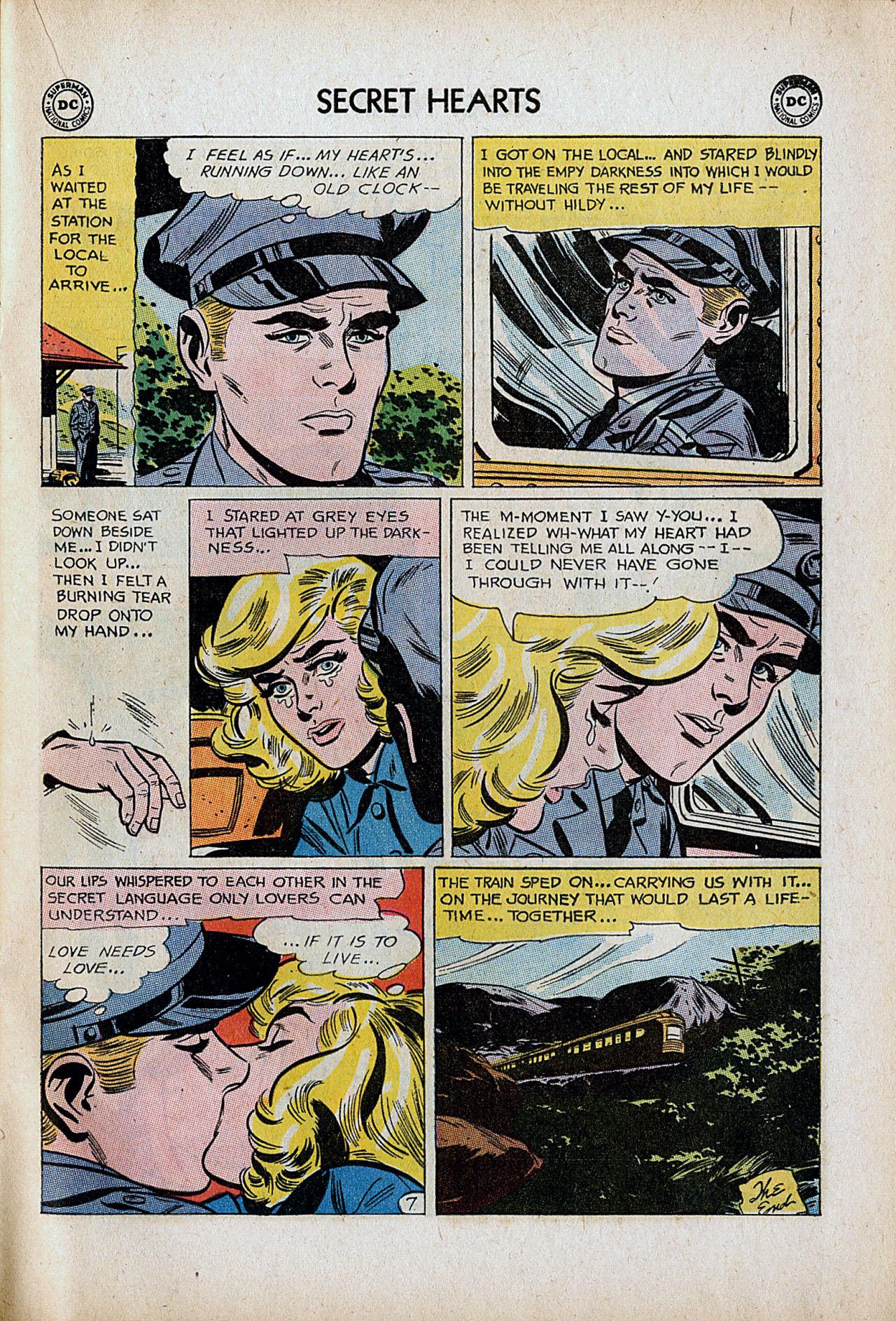 Read online Secret Hearts comic -  Issue #86 - 17